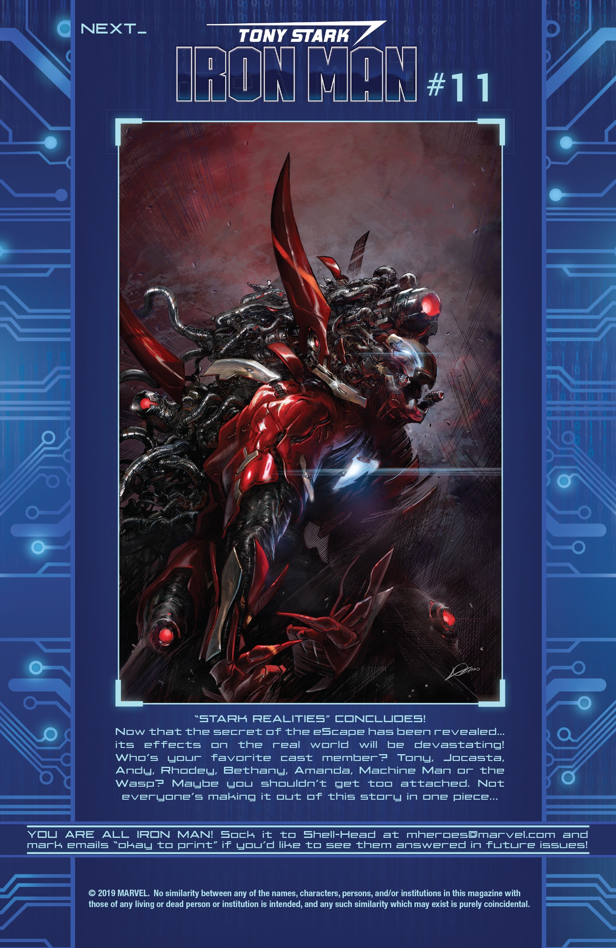 Read online Tony Stark: Iron Man comic -  Issue #10 - 22