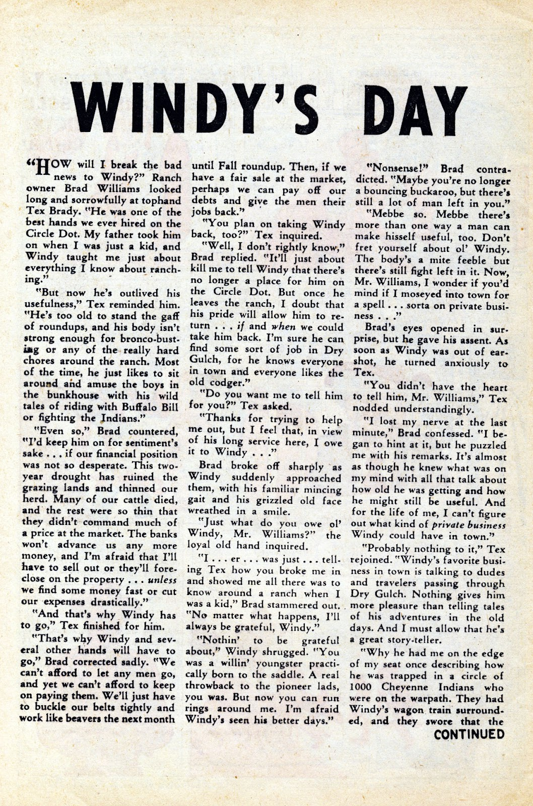 Gunsmoke Western issue 65 - Page 8