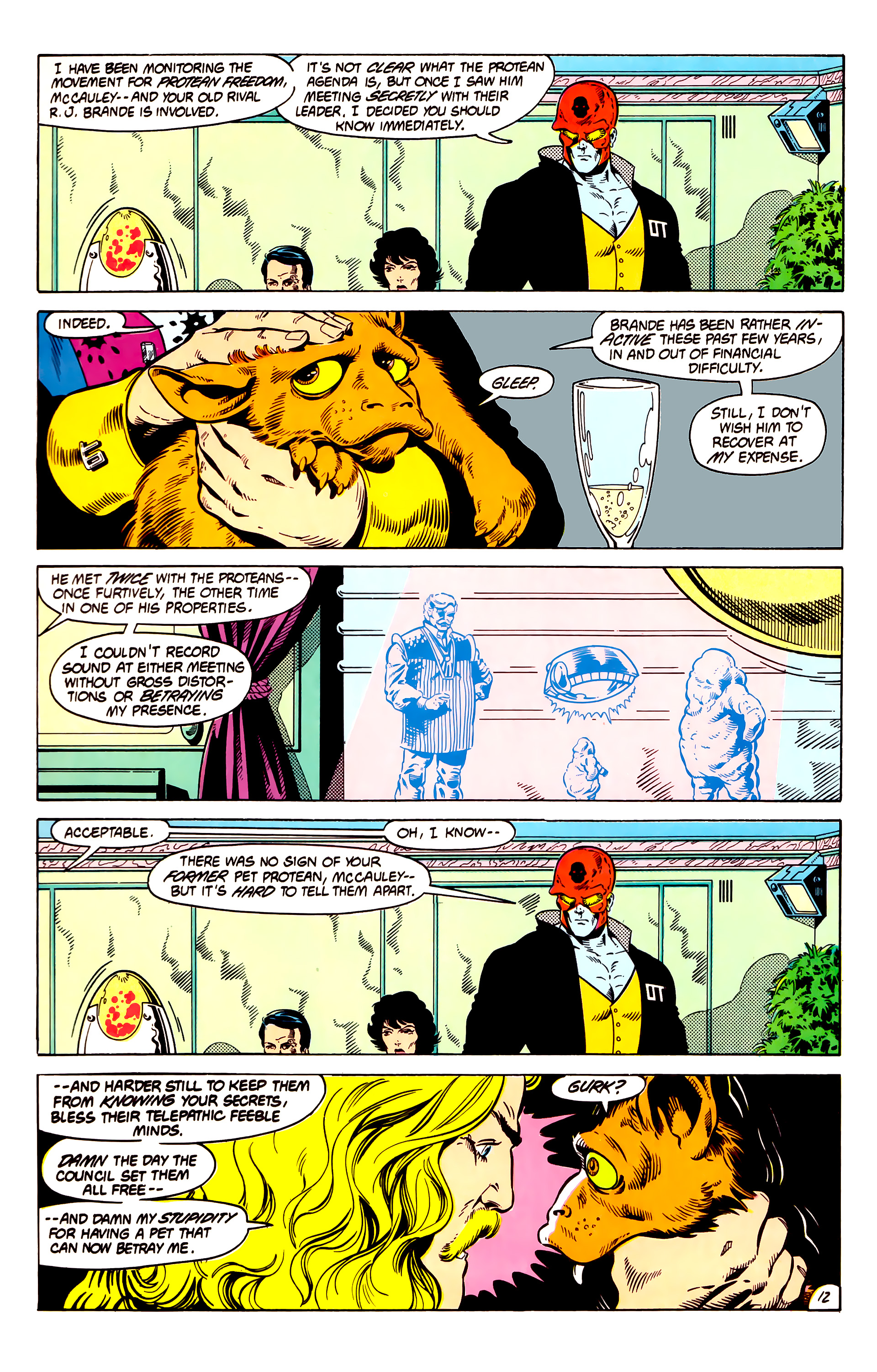 Legion of Super-Heroes (1984) 13 Page 13