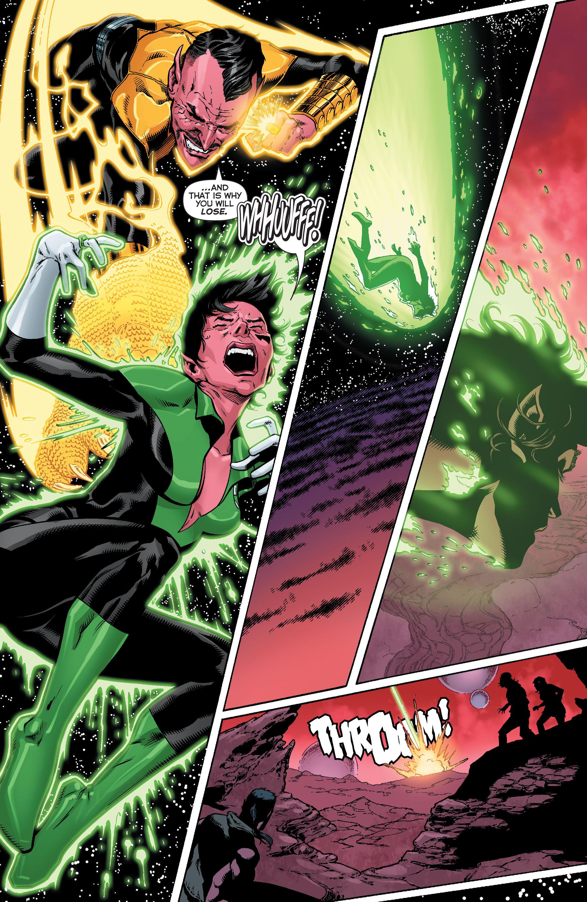 Read online Sinestro comic -  Issue #12 - 21