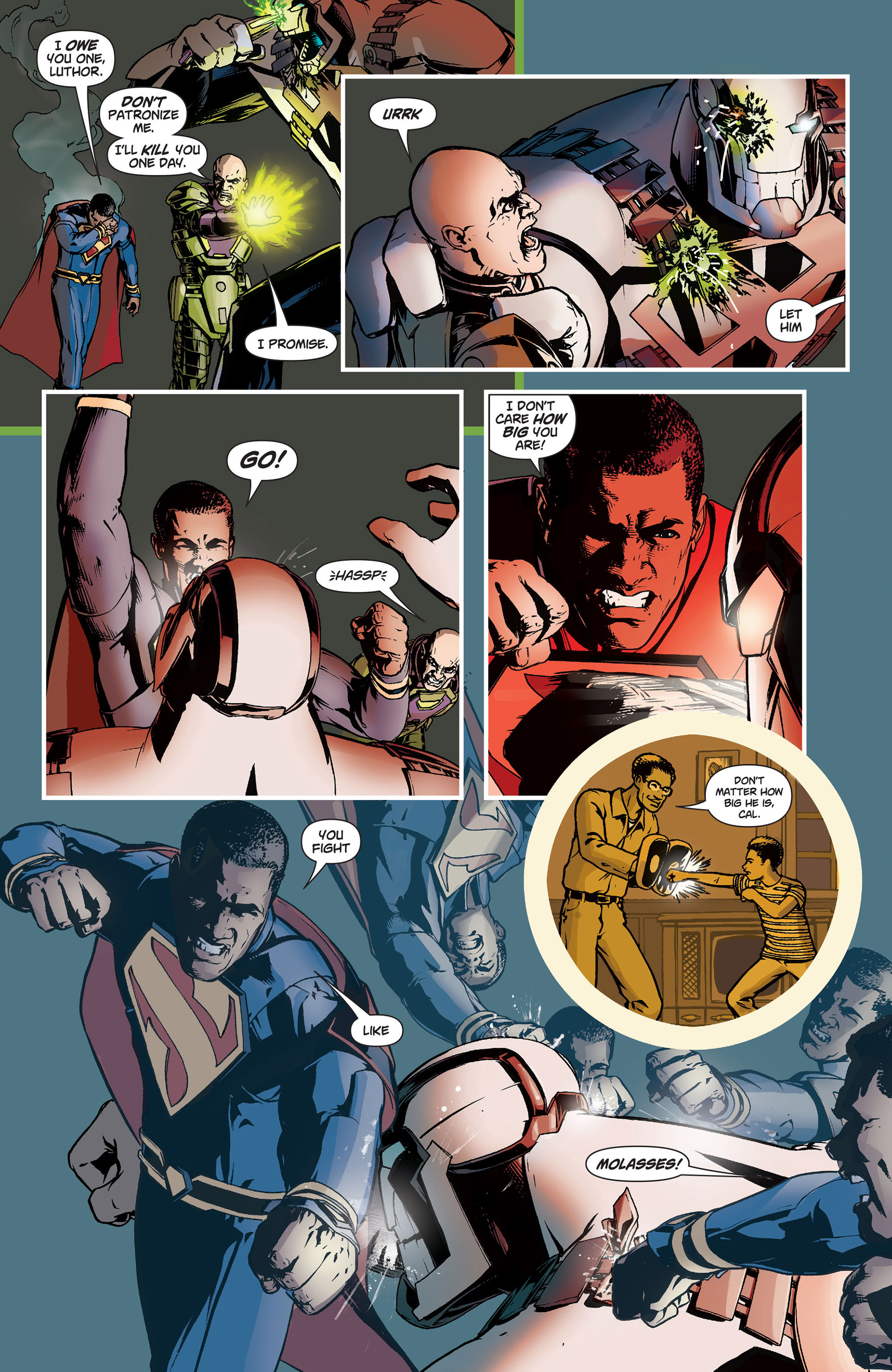 Read online Action Comics (2011) comic -  Issue #9 - 20