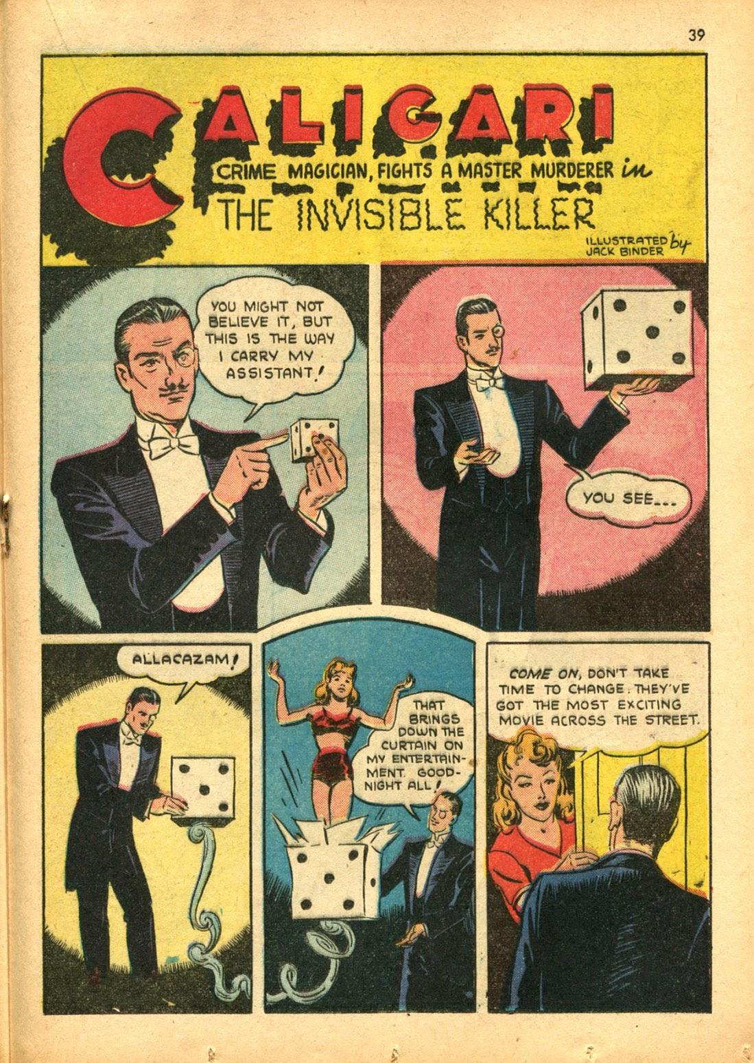 Read online Super-Magician Comics comic -  Issue #15 - 38