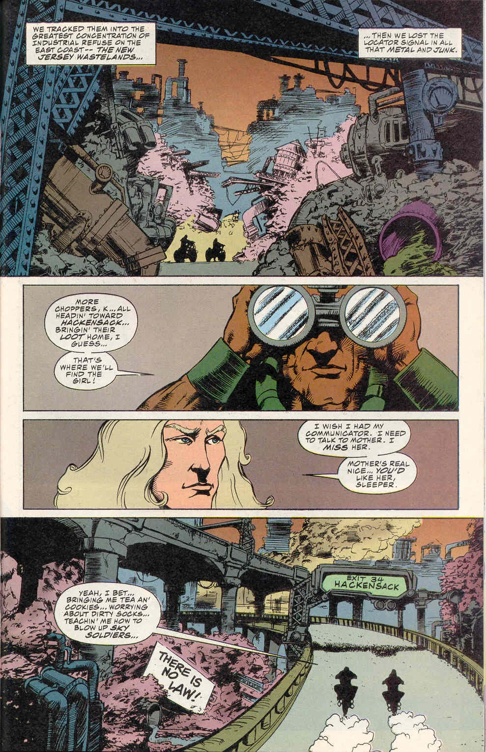 Read online Kamandi: At Earth's End comic -  Issue #2 - 16