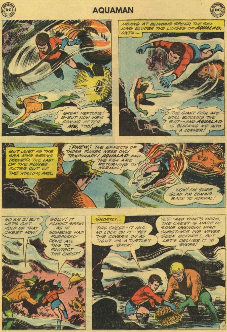Read online Aquaman (1962) comic -  Issue #2 - 9