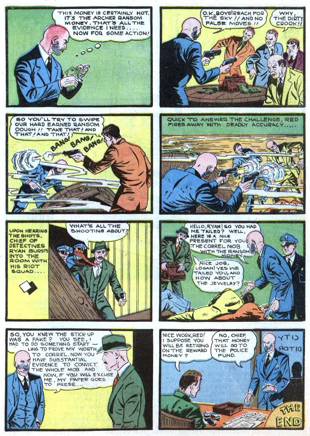 Read online Detective Comics (1937) comic -  Issue #43 - 29