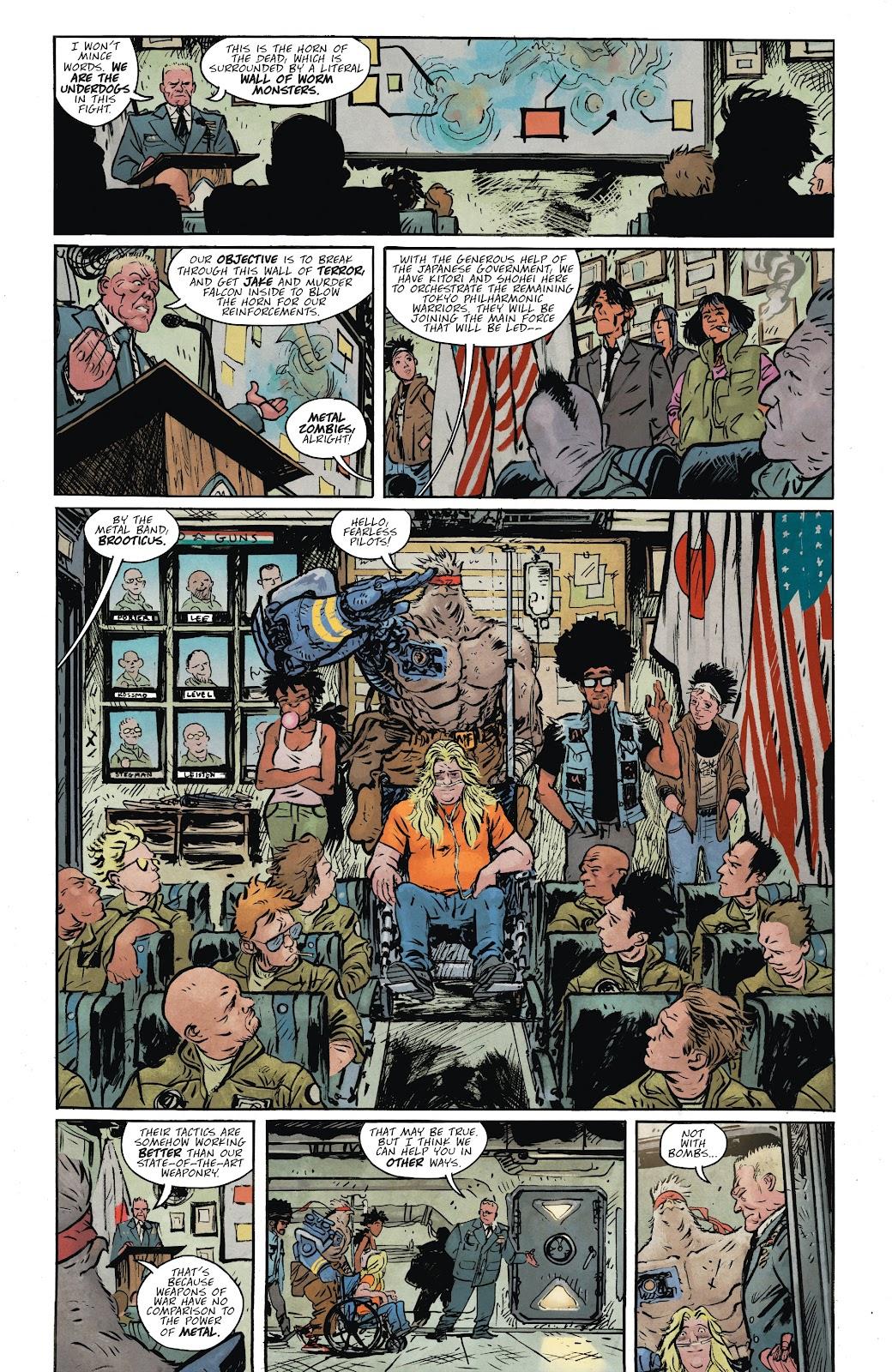 Read online Murder Falcon comic -  Issue #8 - 3