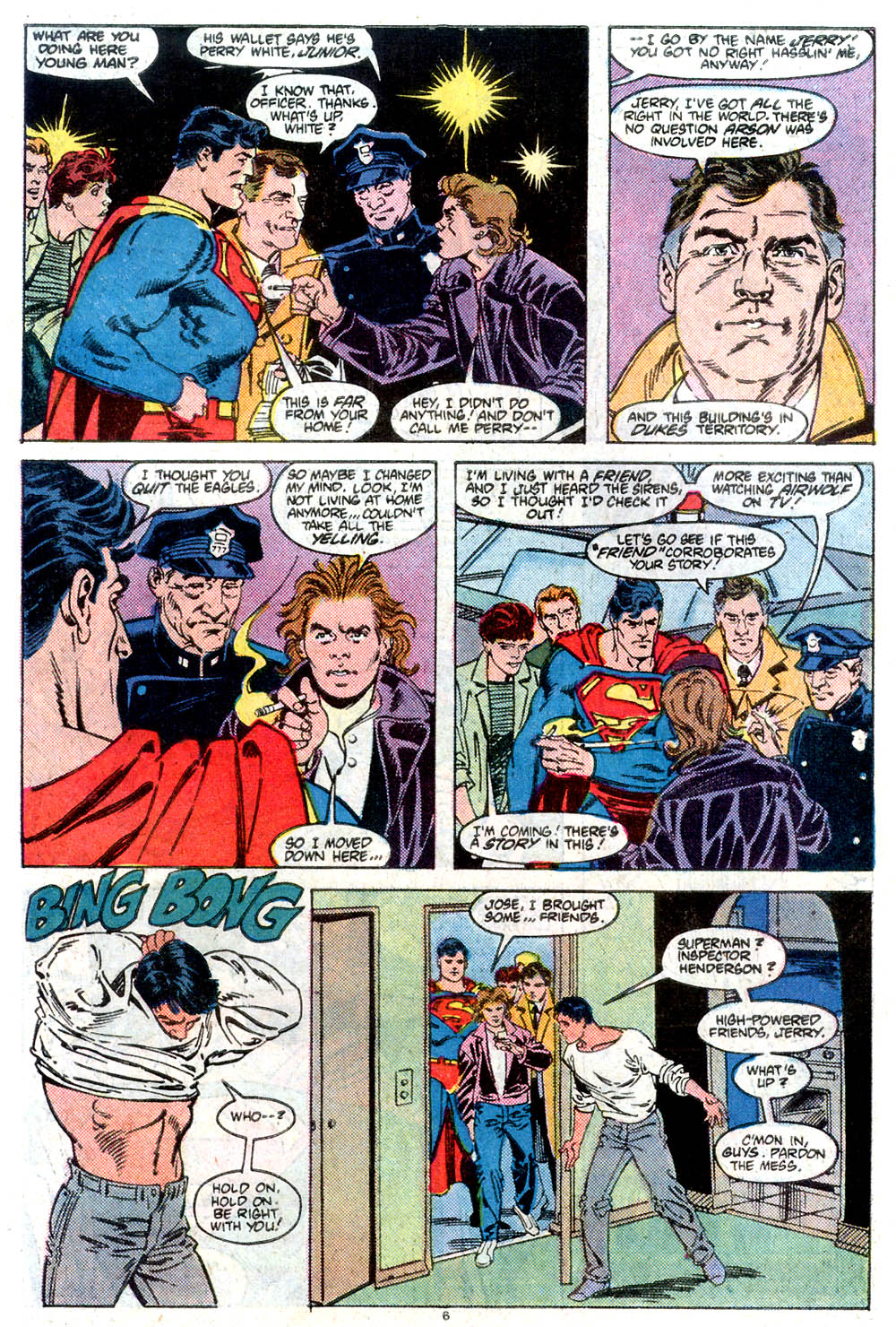 Read online Adventures of Superman (1987) comic -  Issue #432 - 7