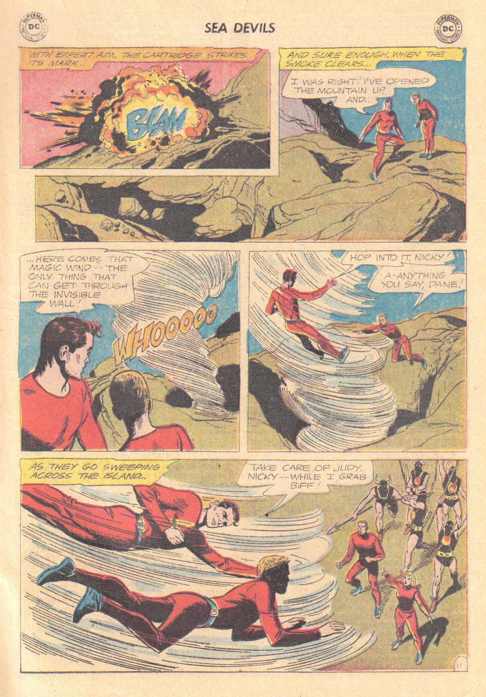 Read online Sea Devils comic -  Issue #16 - 13