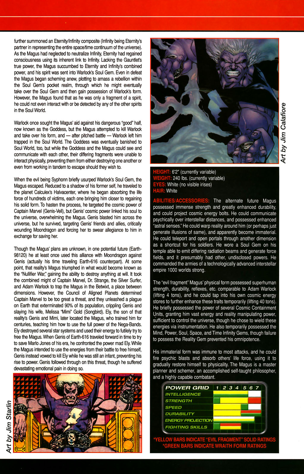 Read online All-New Official Handbook of the Marvel Universe A to Z comic -  Issue #6 - 61