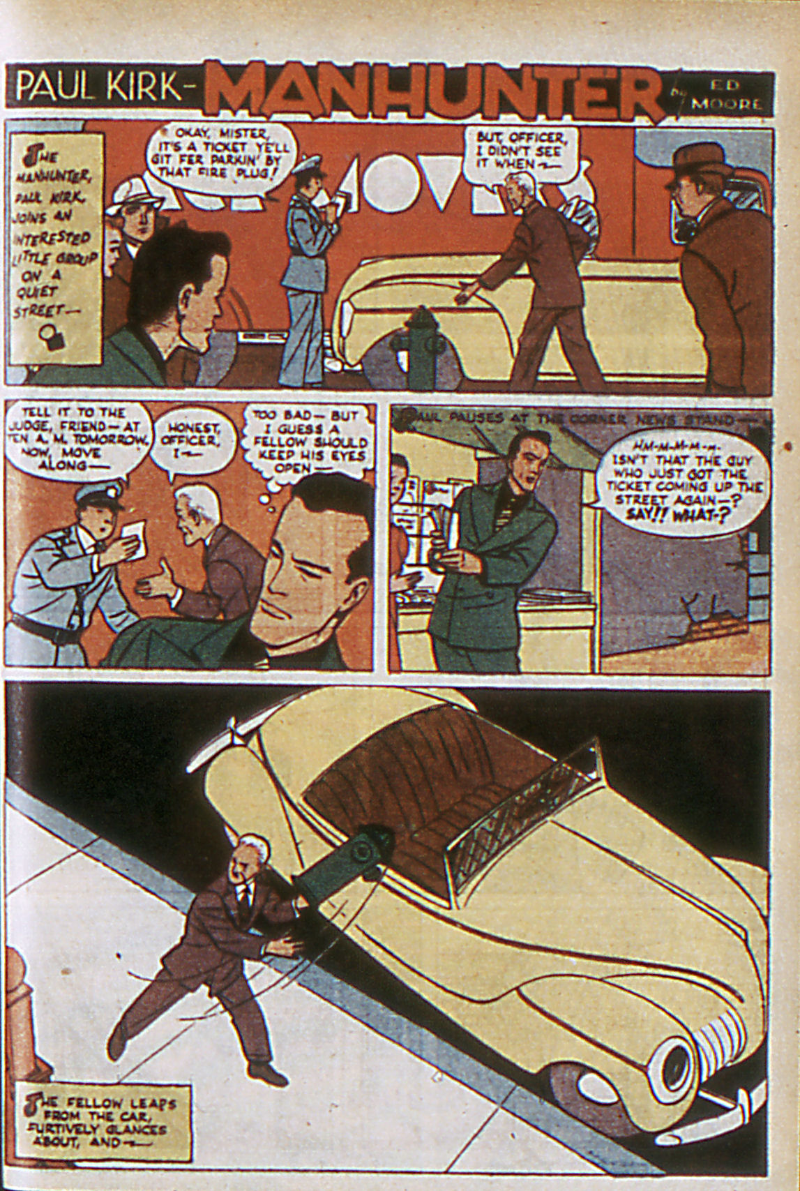 Read online Adventure Comics (1938) comic -  Issue #63 - 42