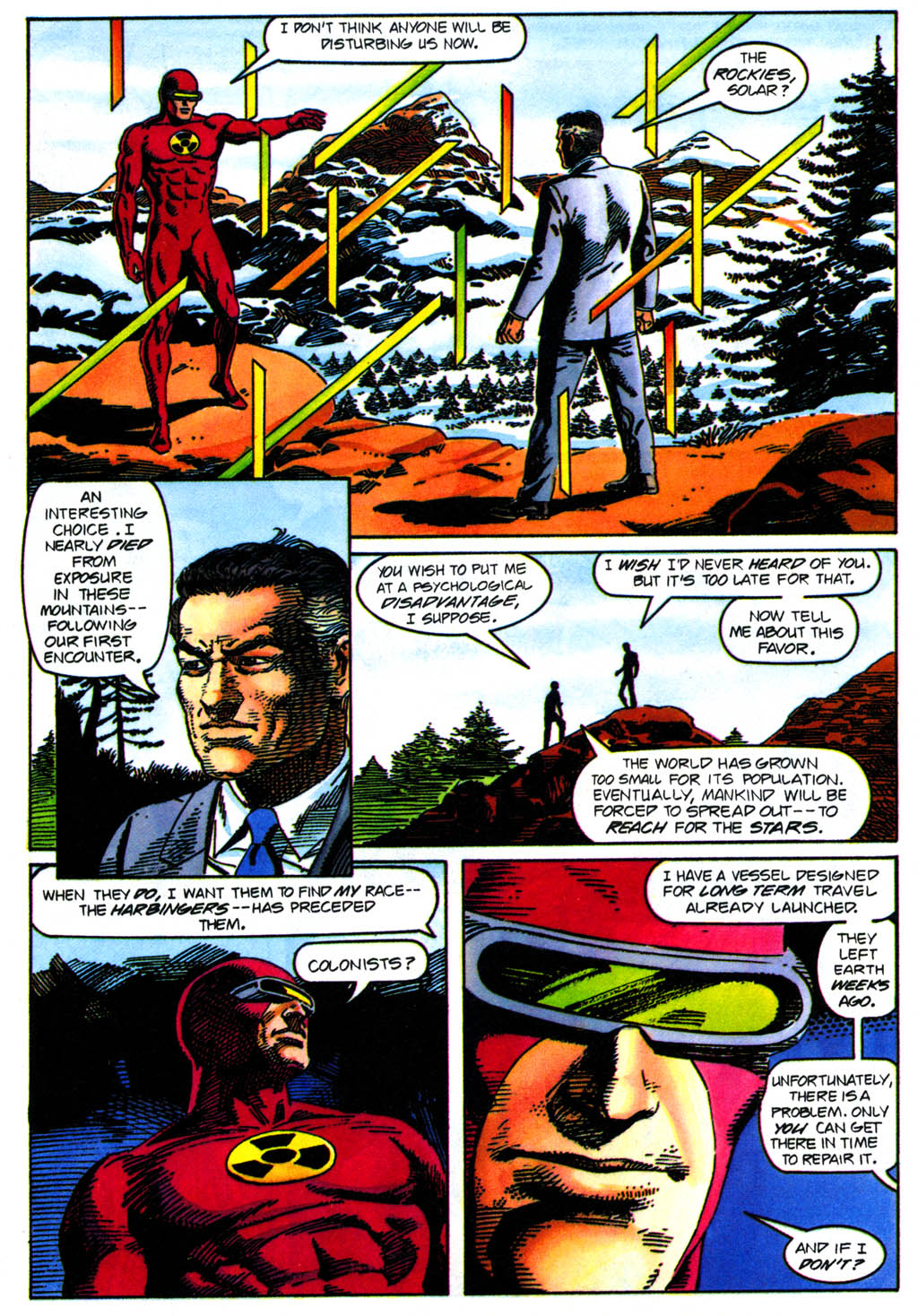 Read online Solar, Man of the Atom comic -  Issue #41 - 11
