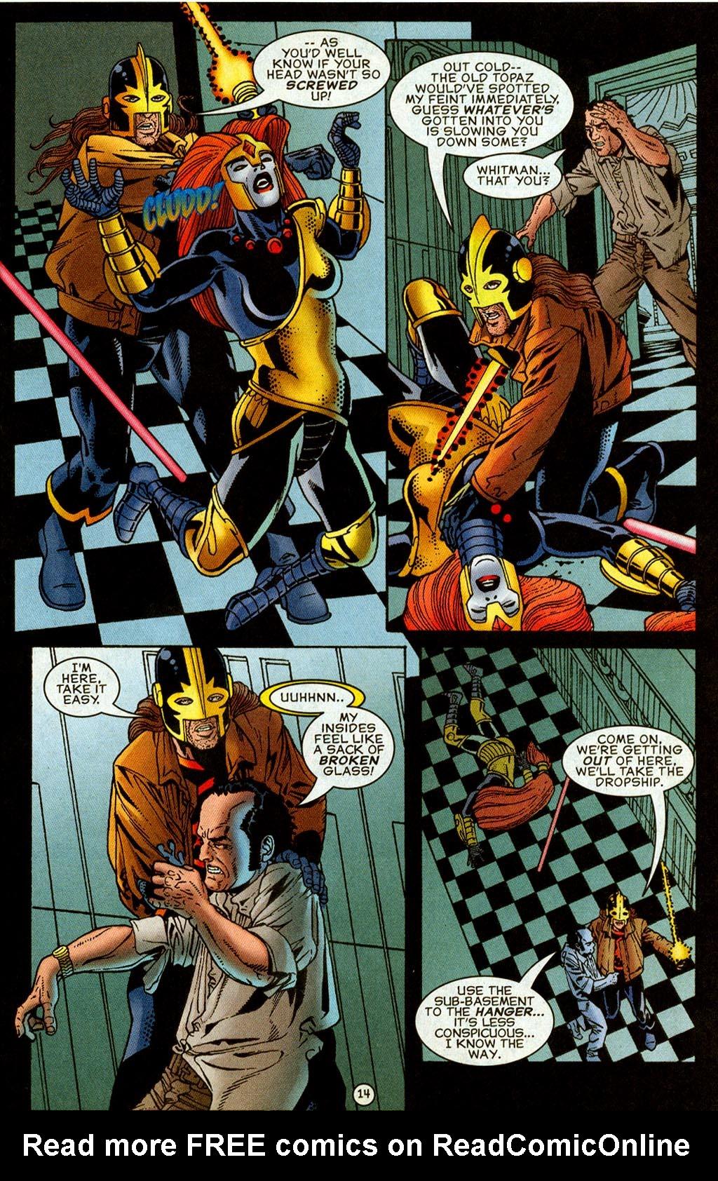 Read online UltraForce (1995) comic -  Issue #8 - 15
