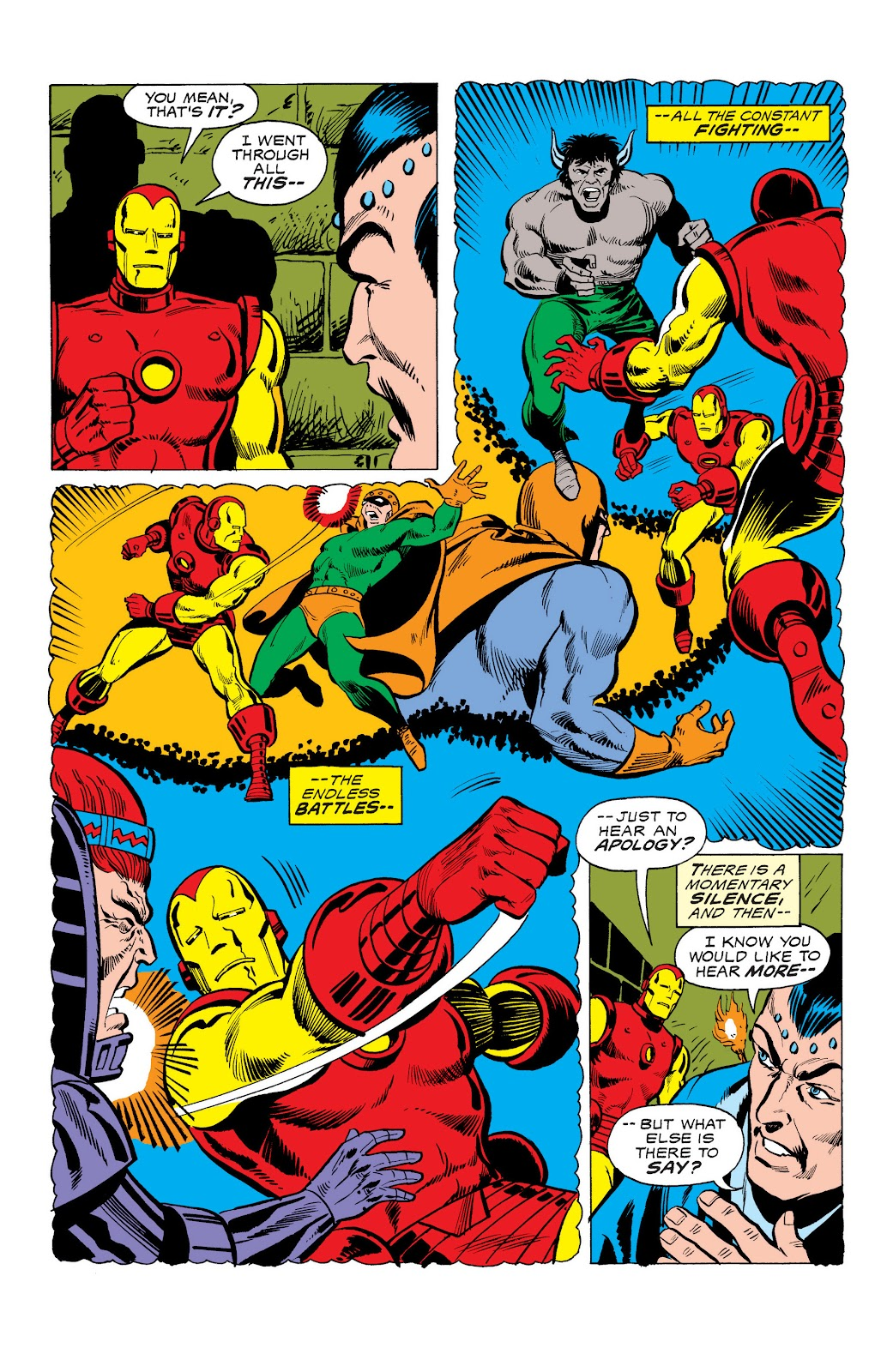 Read online Marvel Masterworks: The Invincible Iron Man comic -  Issue # TPB 10 (Part 3) - 26