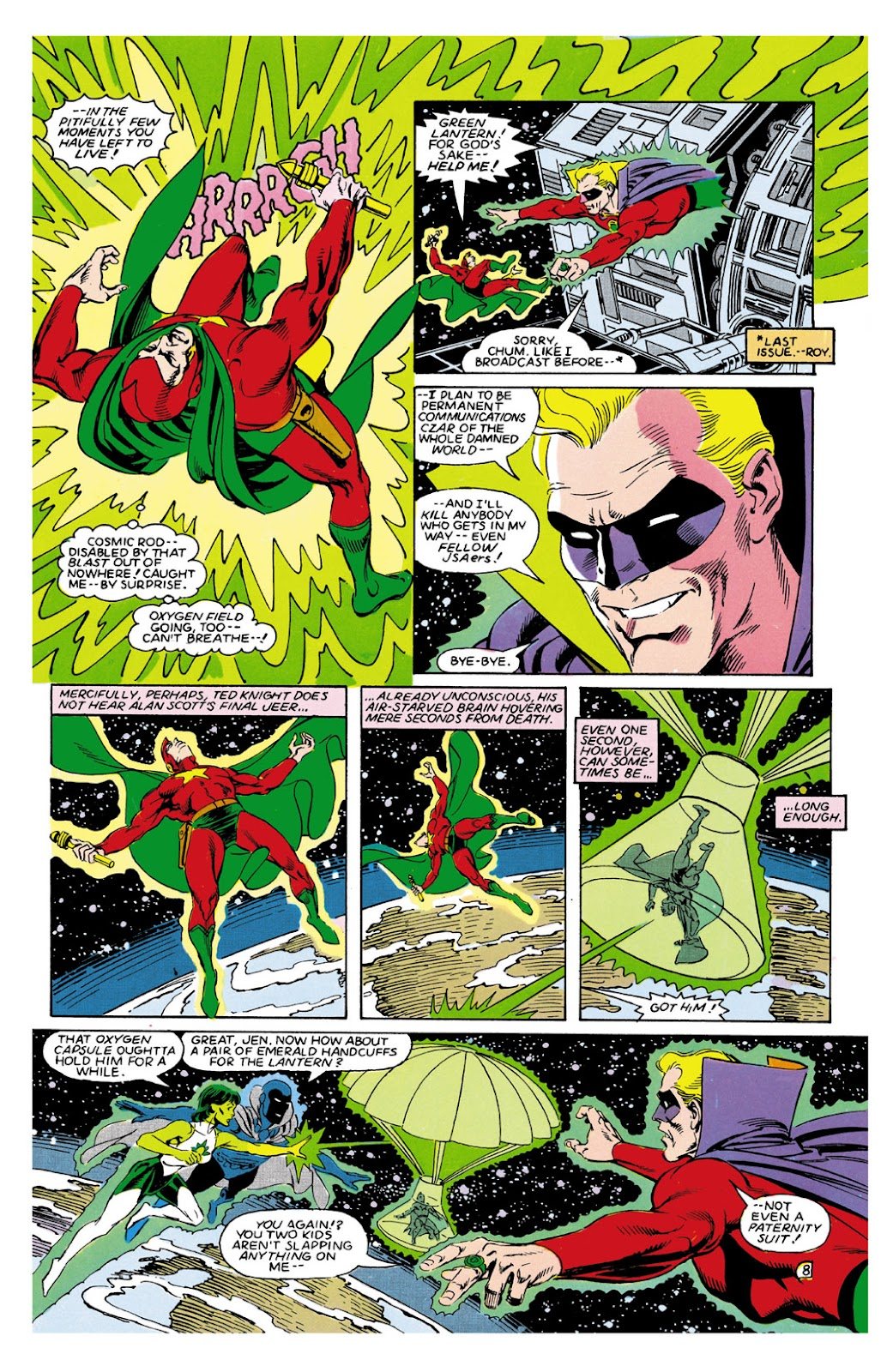 Infinity Inc. (1984) issue 9 - Page 8