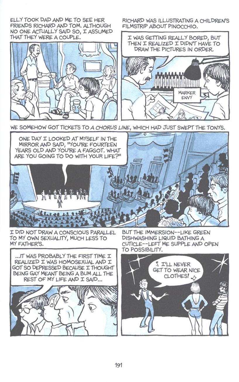 Read online Fun Home: A Family Tragicomic comic -  Issue # TPB - 197