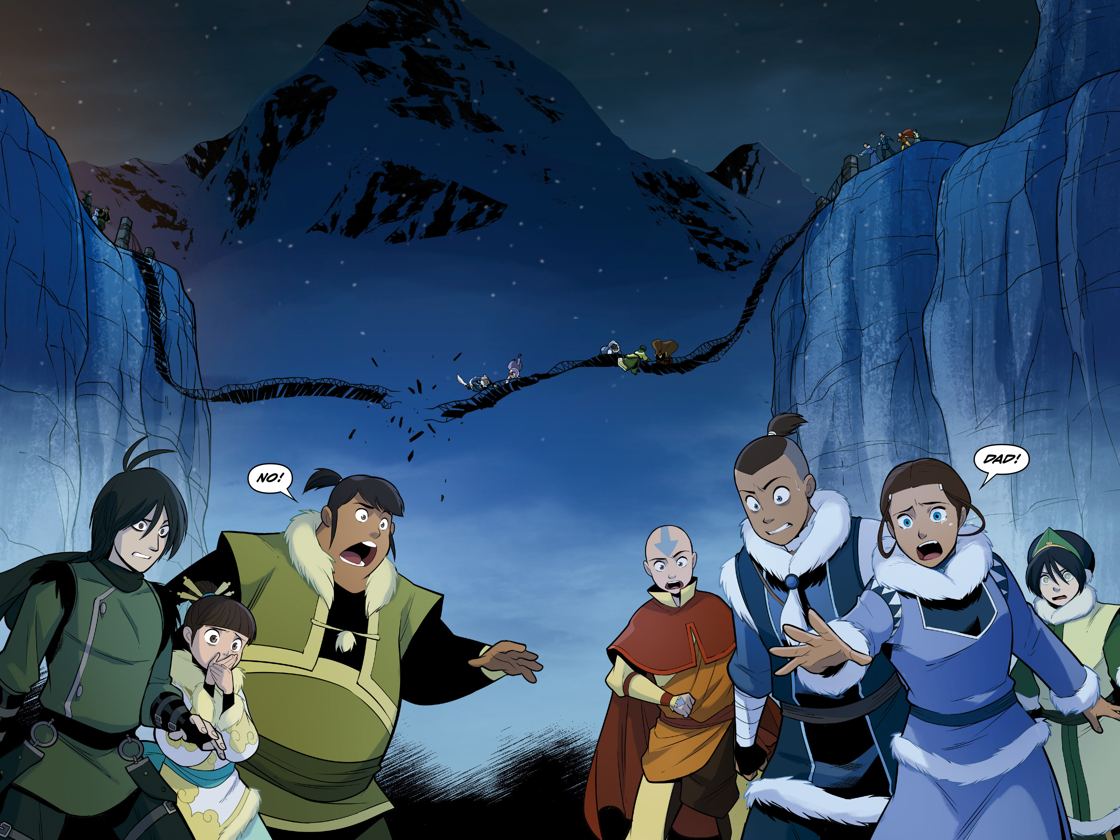 Read online Nickelodeon Avatar: The Last Airbender - North and South comic -  Issue #3 - 60
