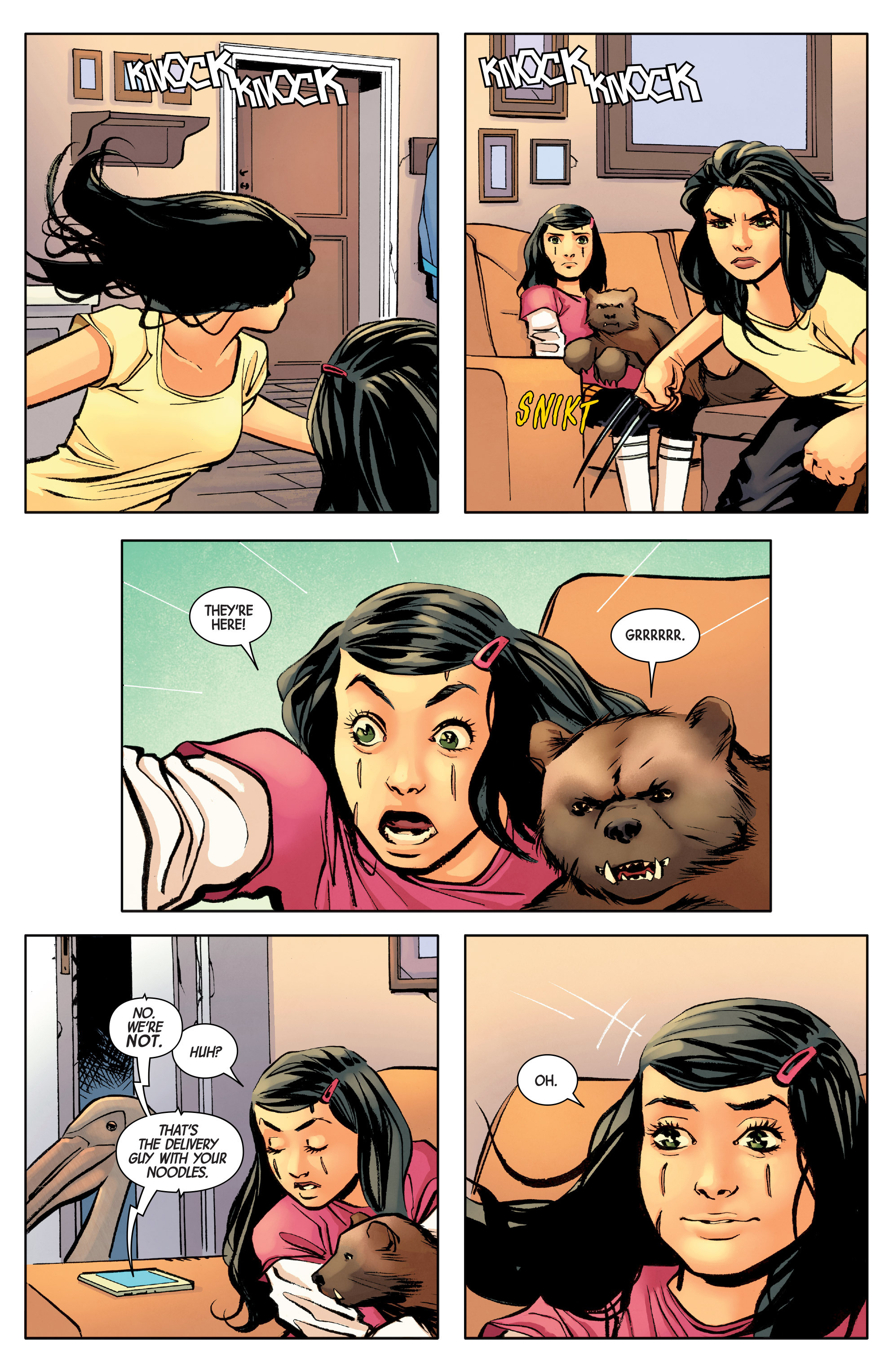 Read online All-New Wolverine (2016) comic -  Issue #8 - 10