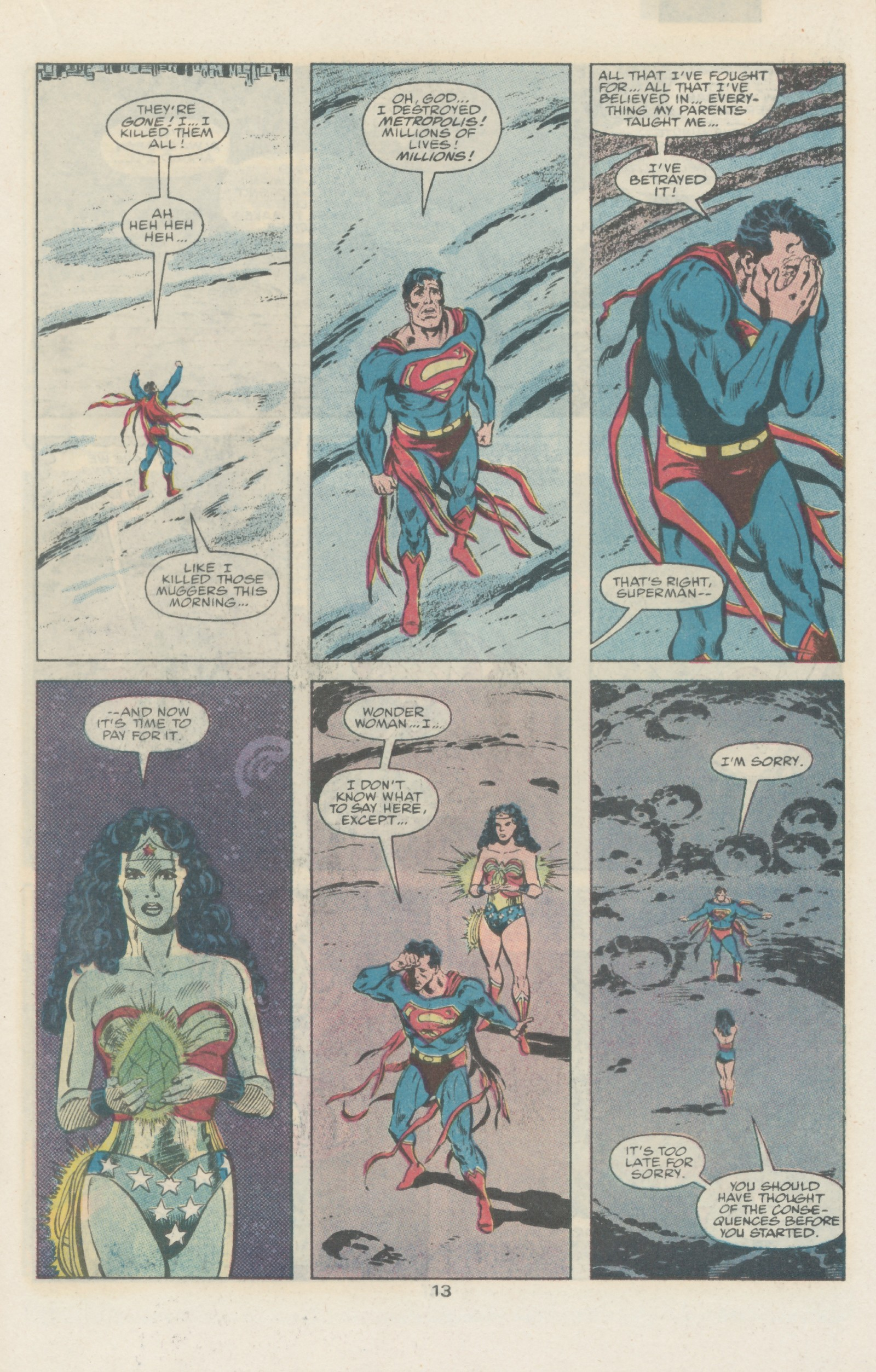 Read online Action Comics (1938) comic -  Issue #666 - 18