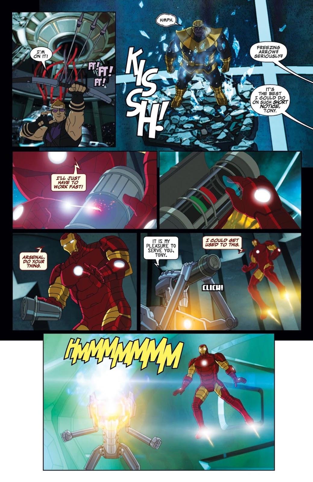 Read online Marvel Universe Avengers Assemble Season 2 comic -  Issue #2 - 17