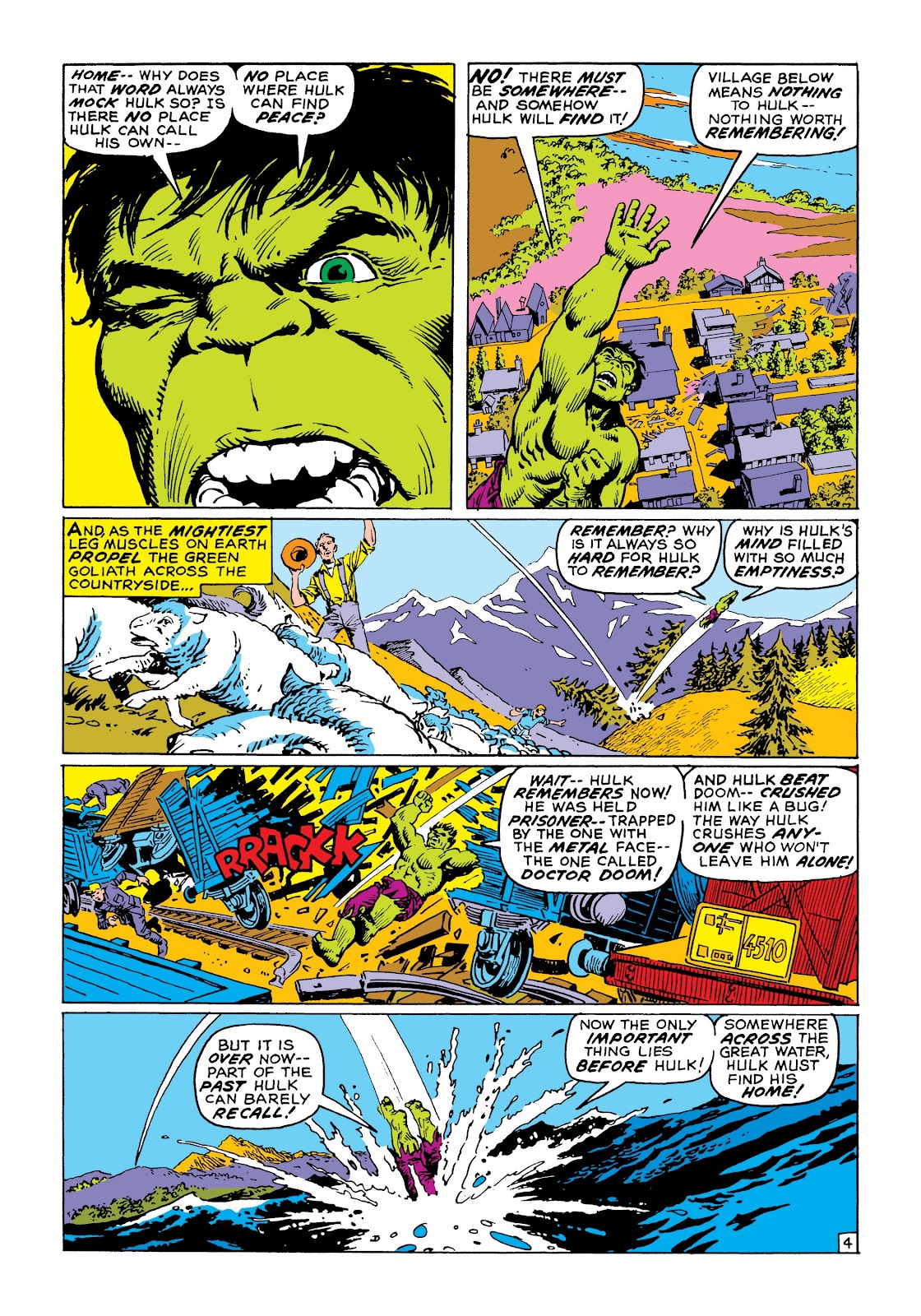 Read online Marvel Masterworks: The Incredible Hulk comic -  Issue # TPB 8 (Part 1) - 11