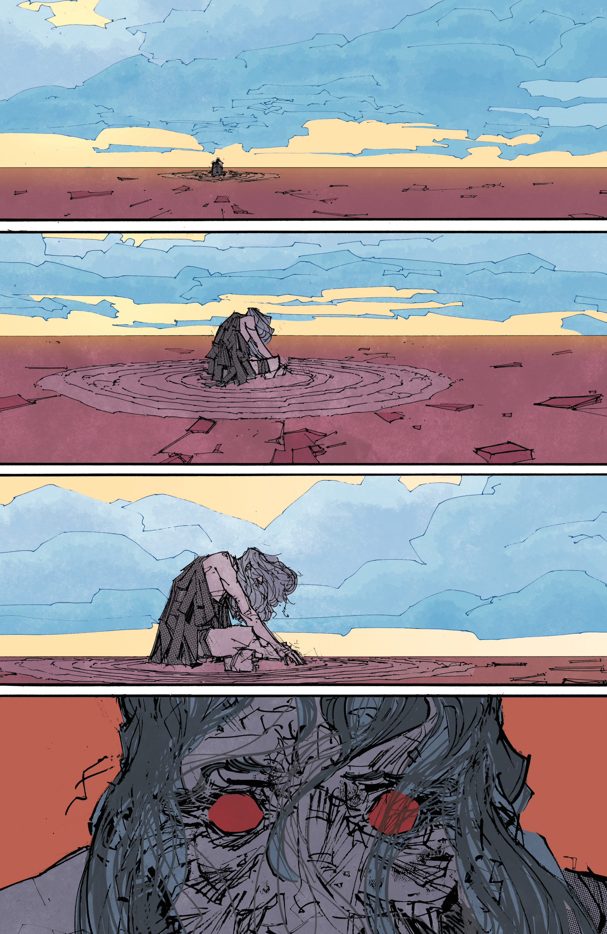Read online John Carter: The End comic -  Issue #4 - 5