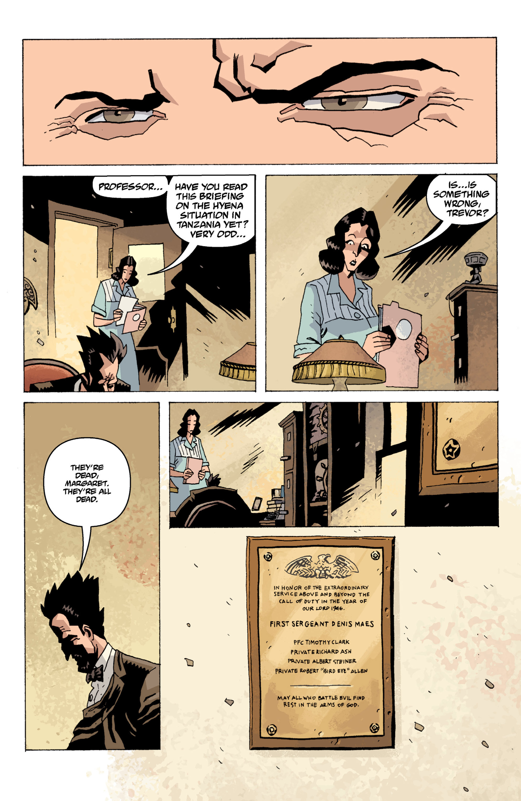Read online B.P.R.D. (2003) comic -  Issue # TPB 13 - 83