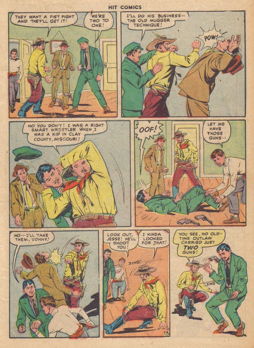Read online Hit Comics comic -  Issue #46 - 15