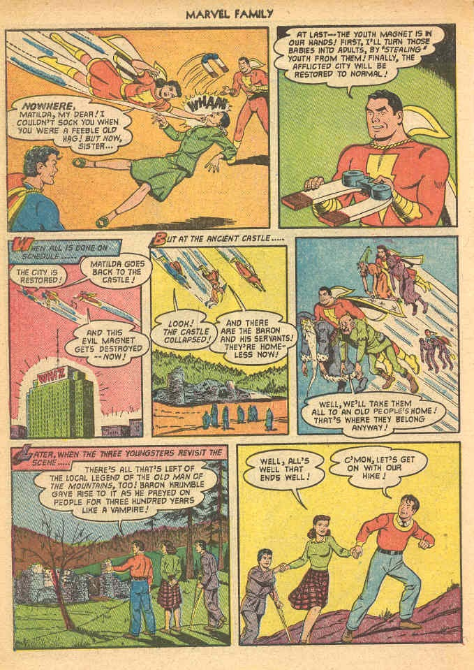 The Marvel Family issue 69 - Page 34