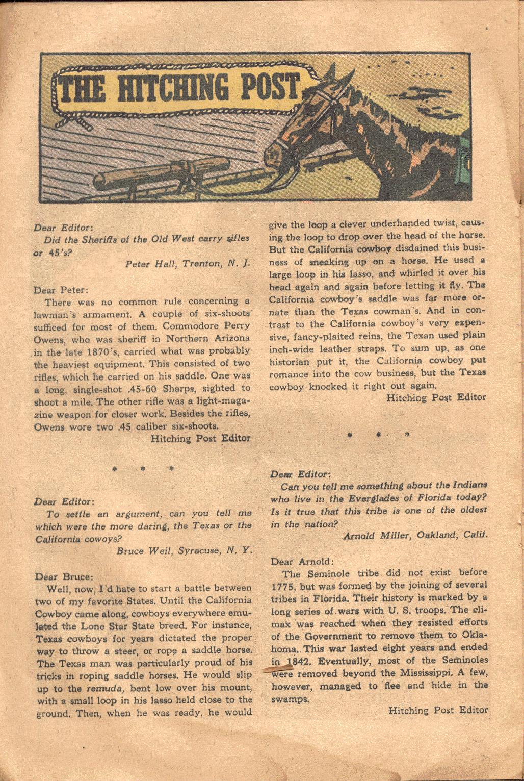 Read online All-Star Western (1951) comic -  Issue #117 - 19