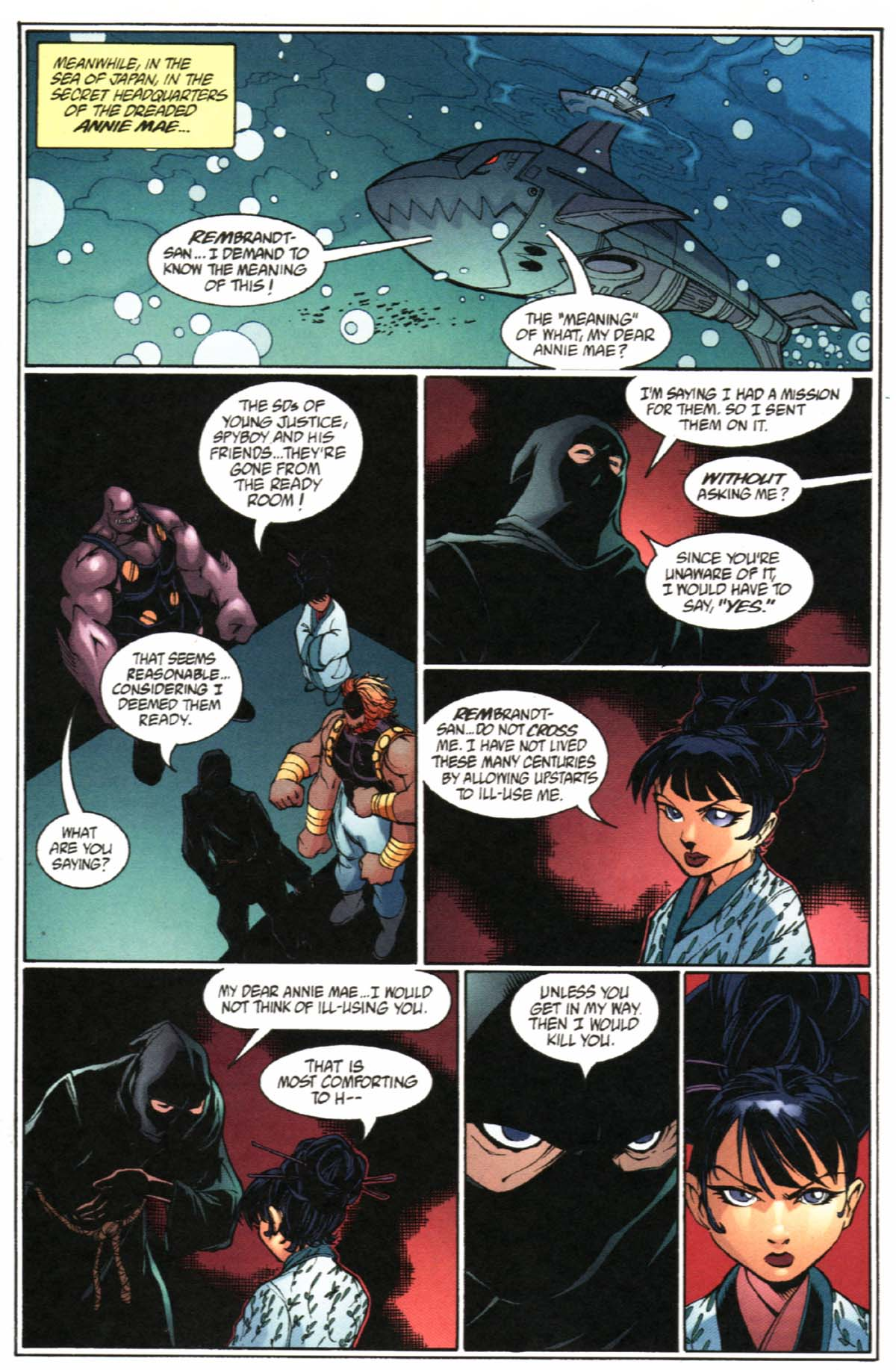 Read online SpyBoy/Young Justice comic -  Issue #2 - 16