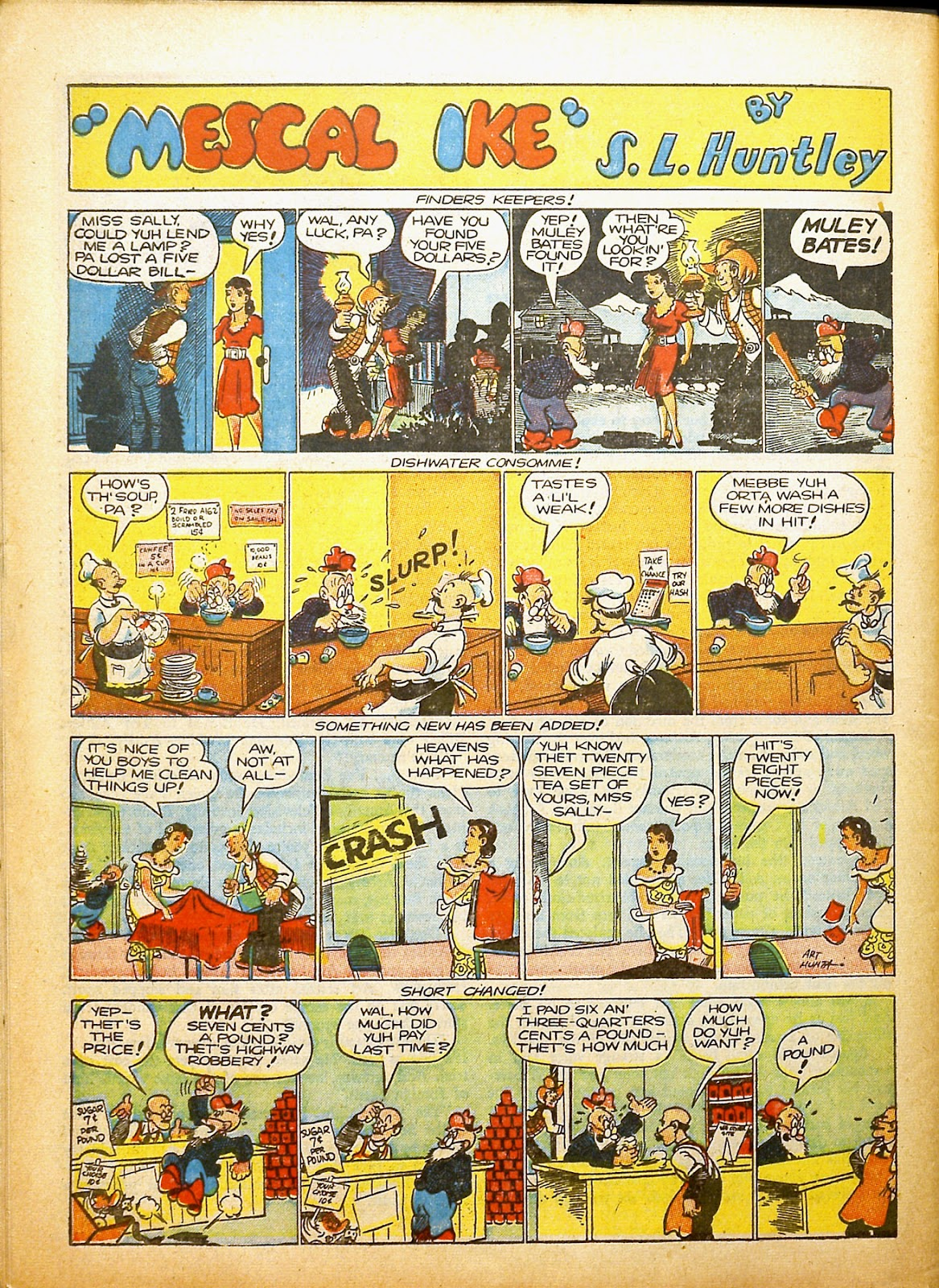 Read online Famous Funnies comic -  Issue #91 - 61