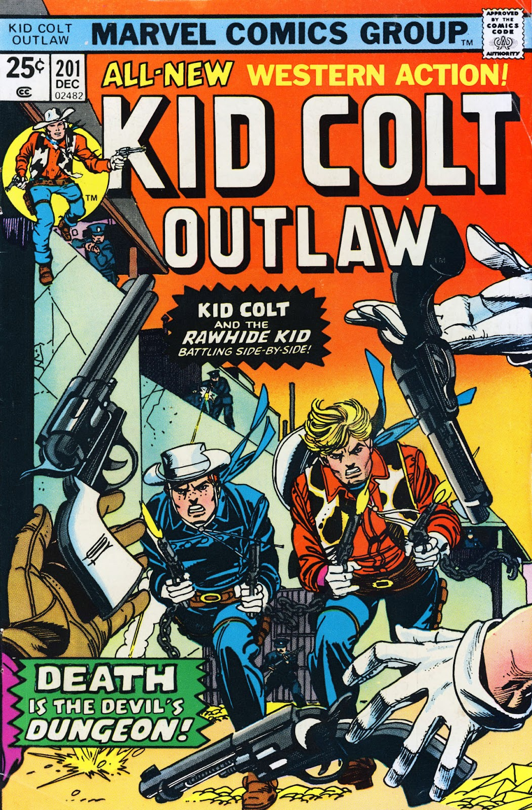 Kid Colt Outlaw issue 201 - Page 1