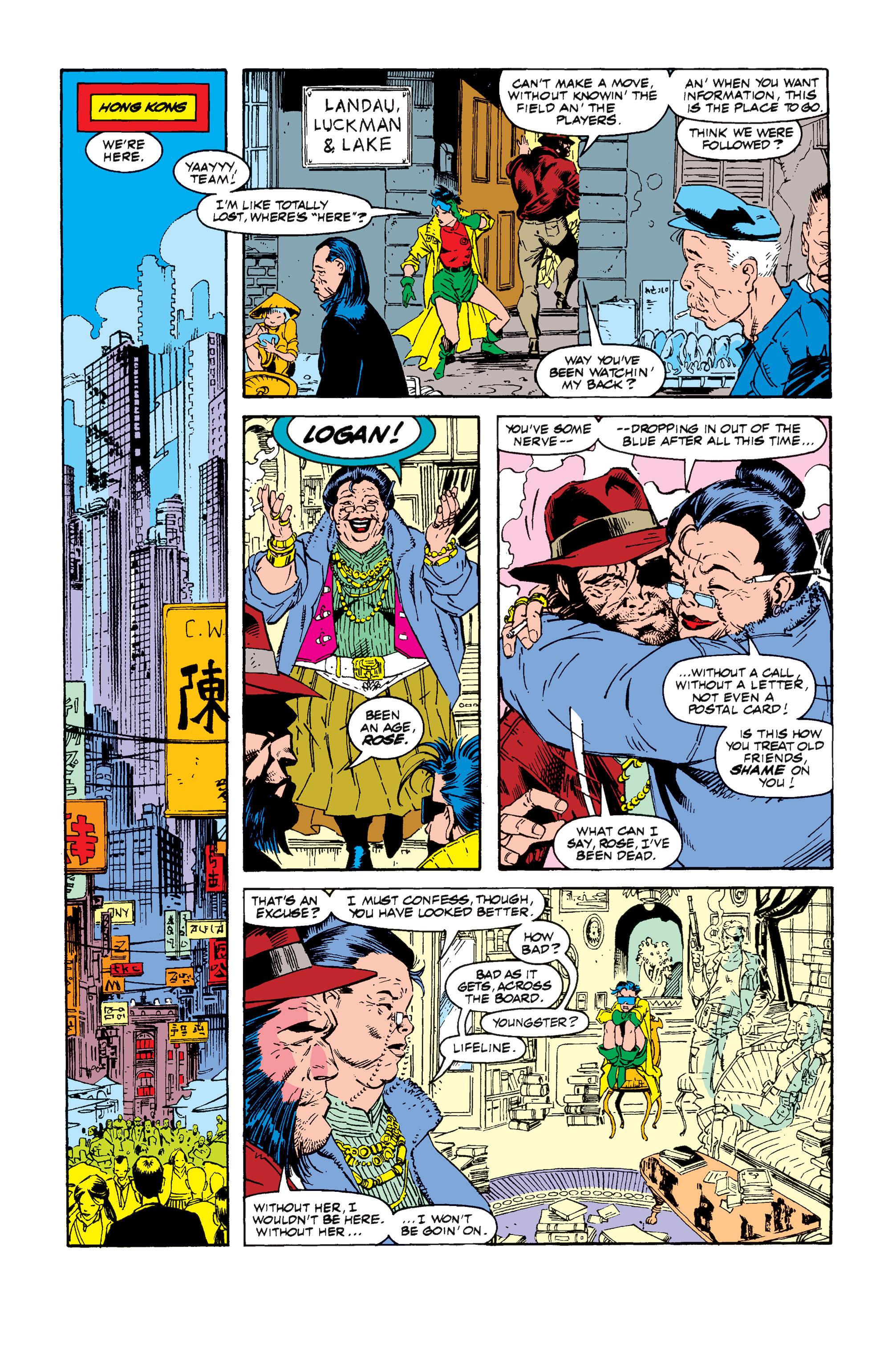 Read online Uncanny X-Men (1963) comic -  Issue #257 - 12