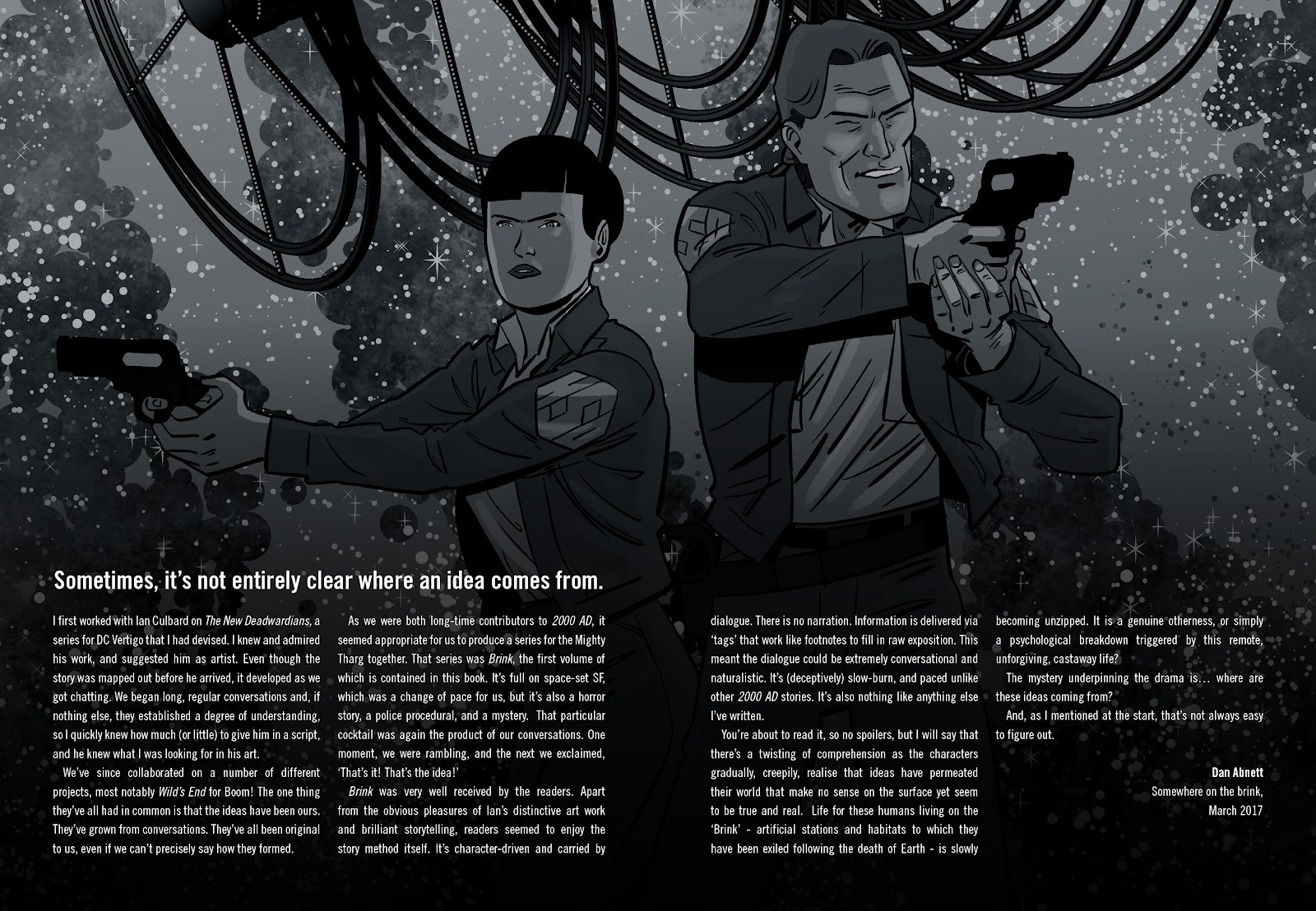 Read online Brink comic -  Issue # TPB 1 - 4