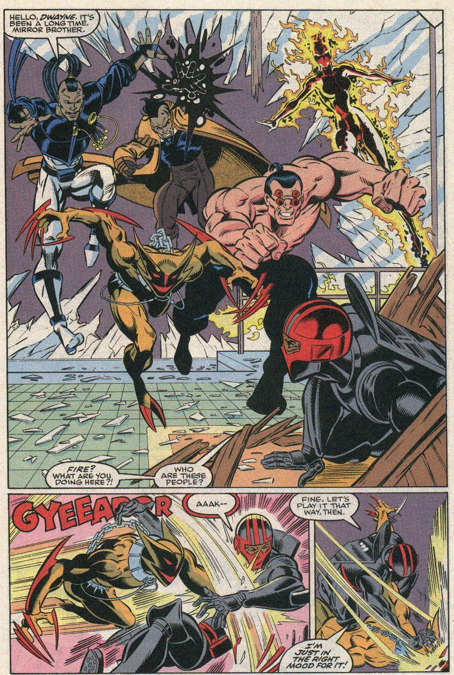 The New Warriors Issue #21 #25 - English 11