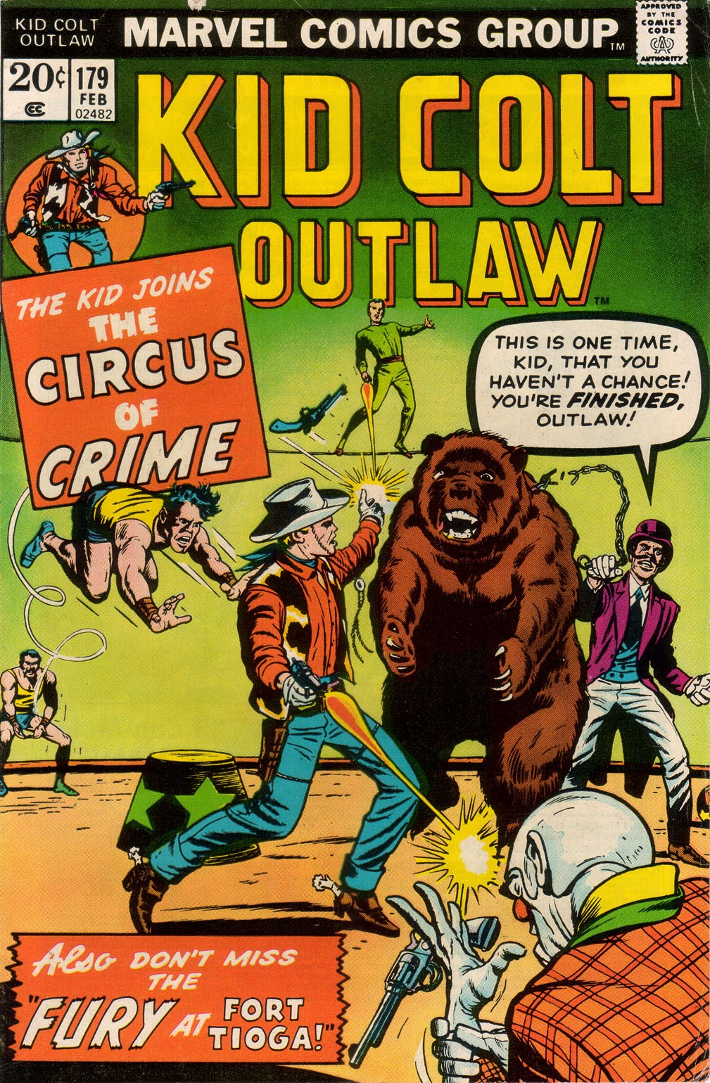 Kid Colt Outlaw issue 179 - Page 1