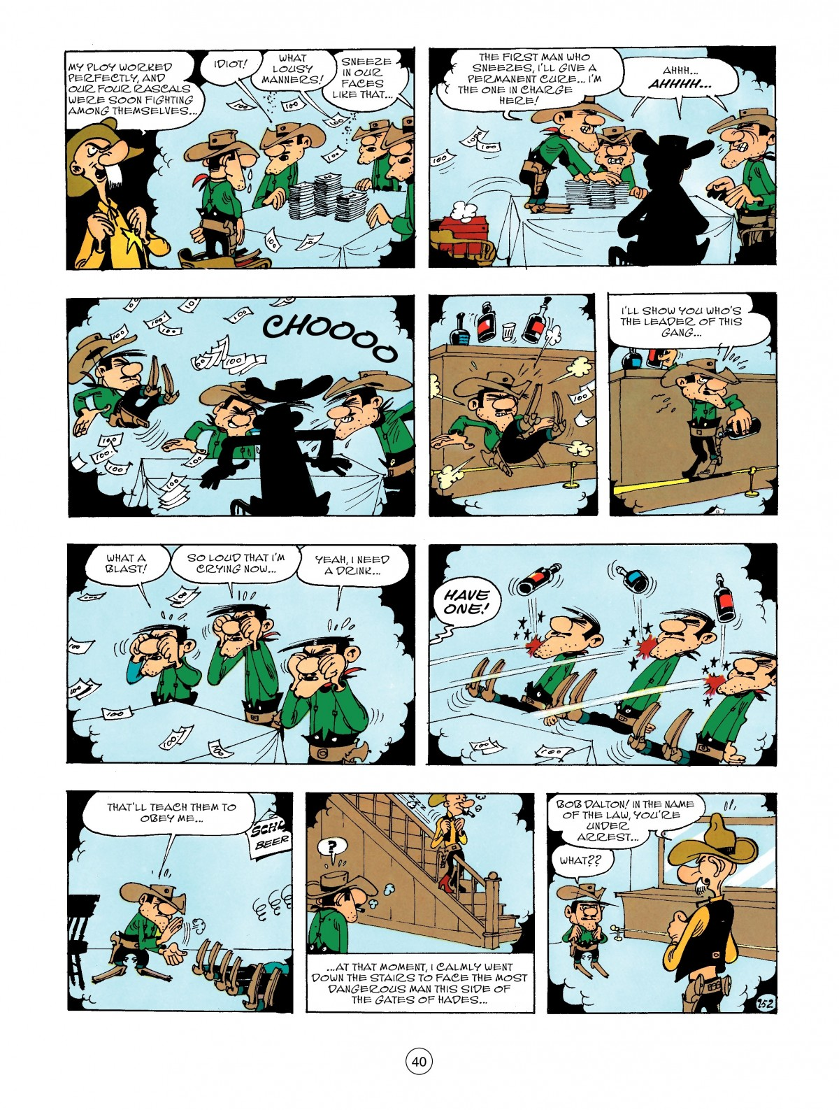 Read online A Lucky Luke Adventure comic -  Issue #47 - 40