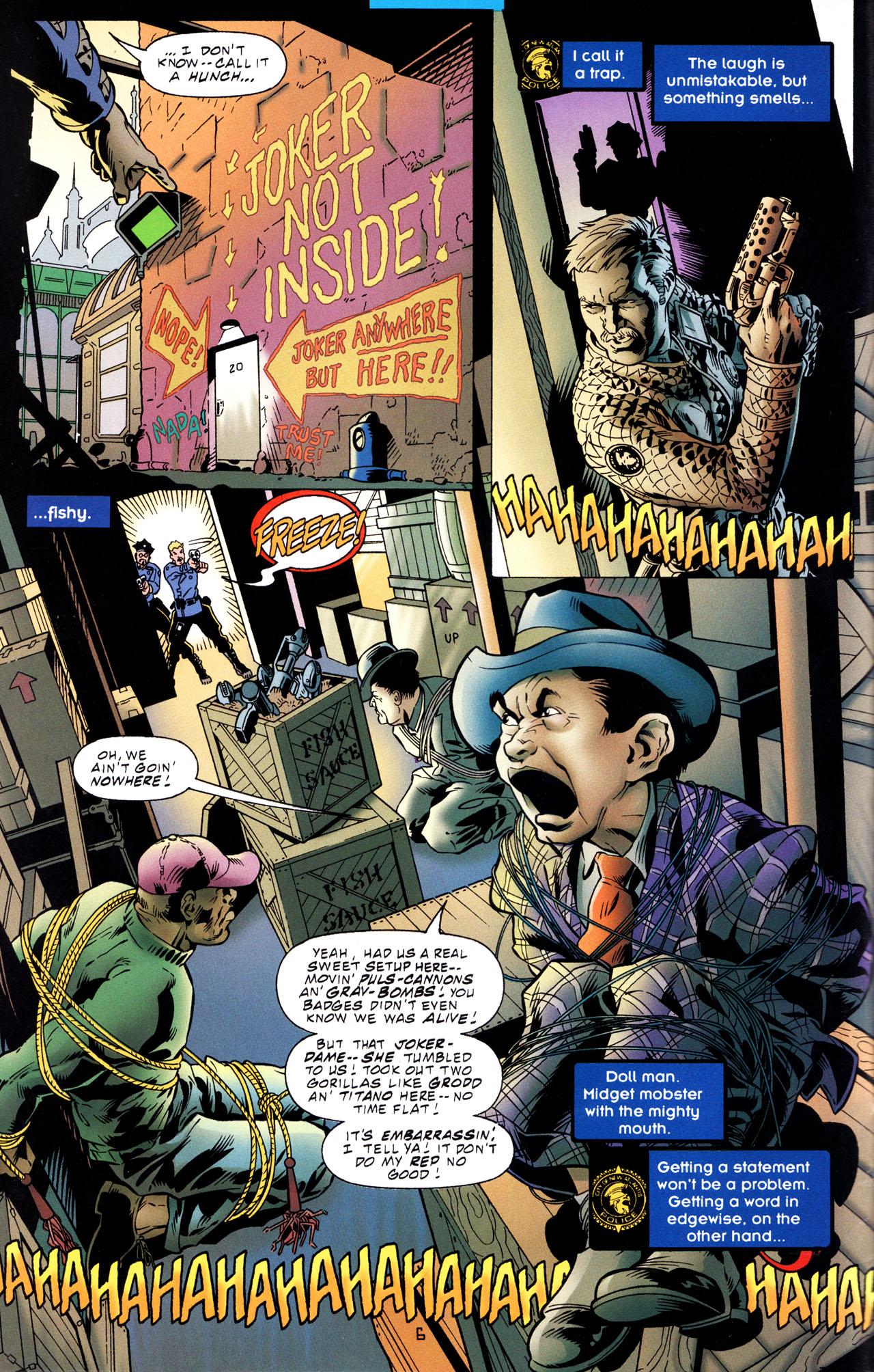 Read online Tangent Comics/ The Joker comic -  Issue # Full - 7