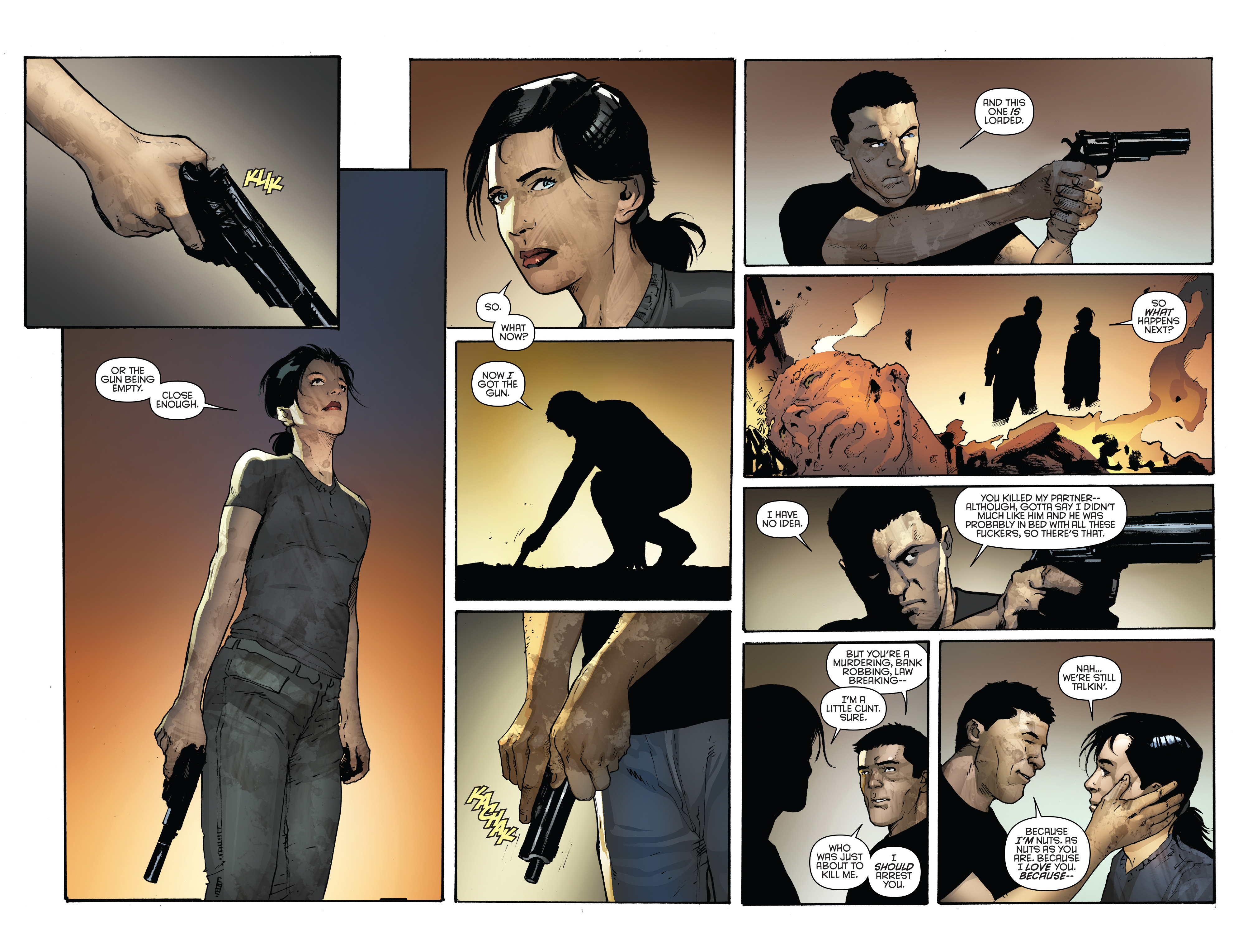 Read online Grand Passion comic -  Issue #5 - 9