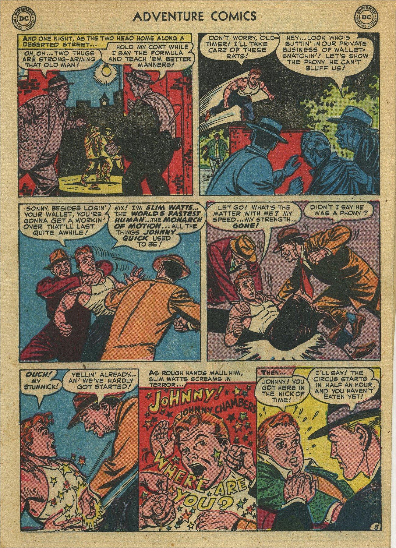 Read online Adventure Comics (1938) comic -  Issue #171 - 19