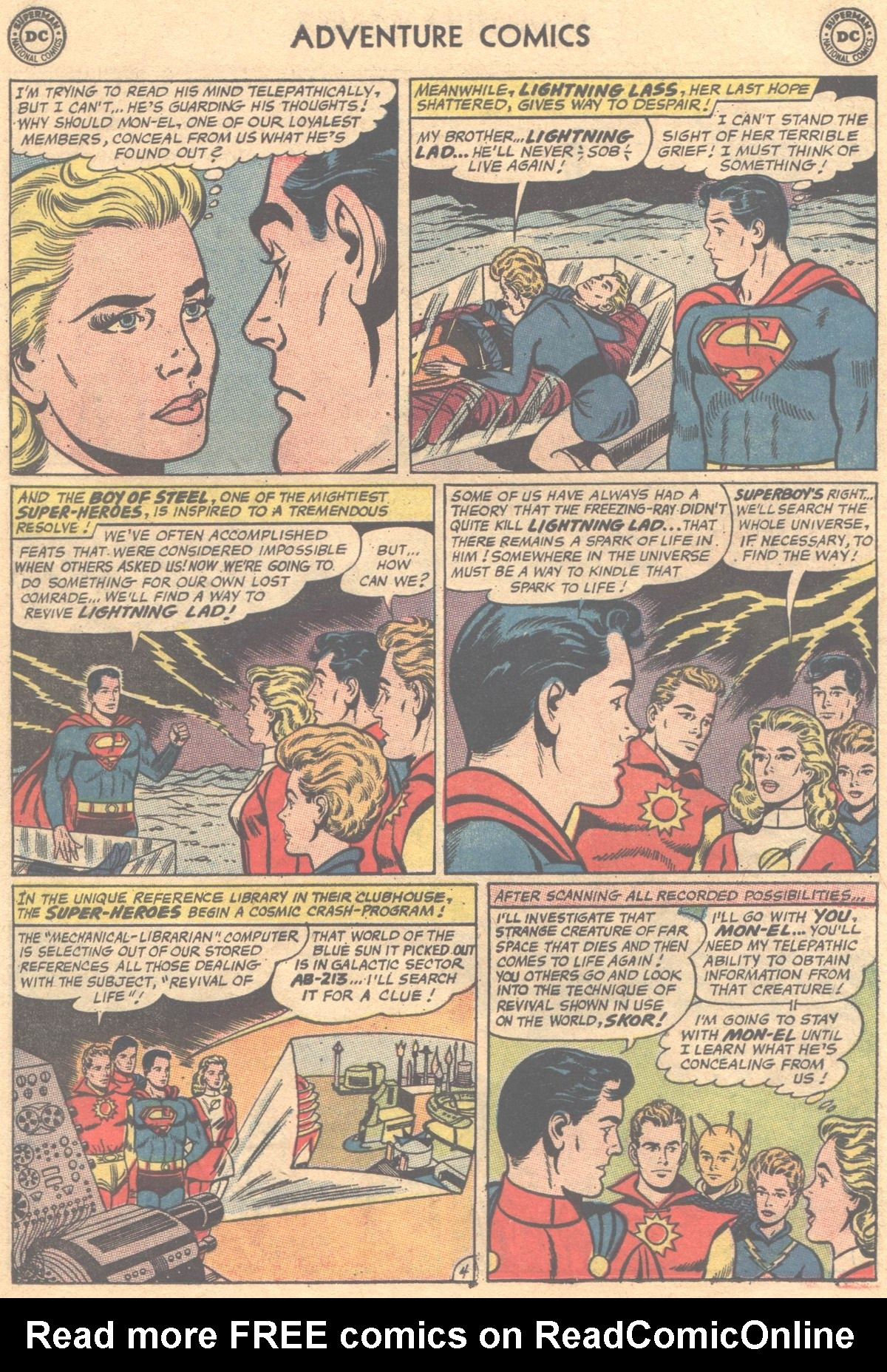 Read online Adventure Comics (1938) comic -  Issue #312 - 6