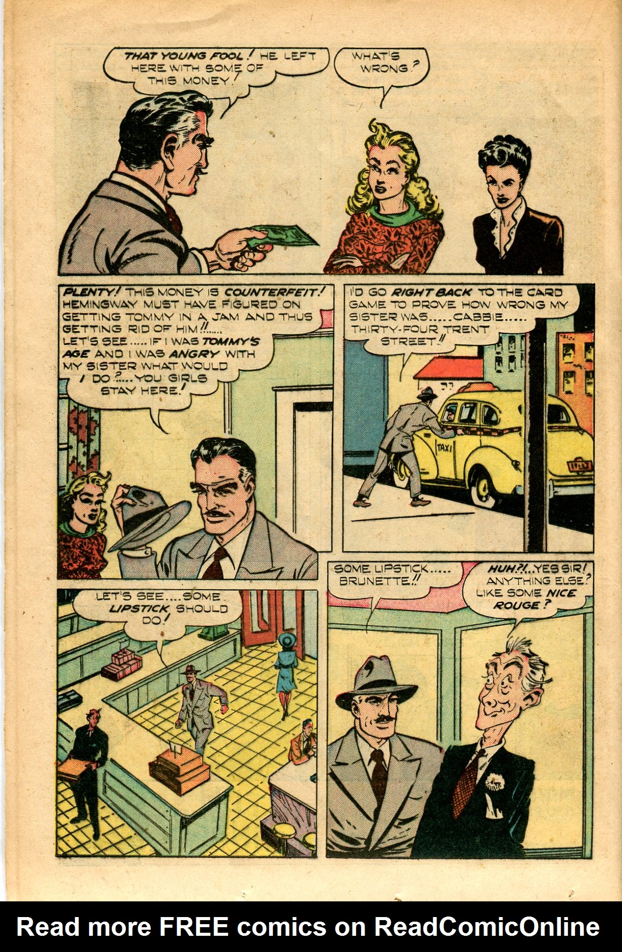 Read online Shadow Comics comic -  Issue #82 - 32