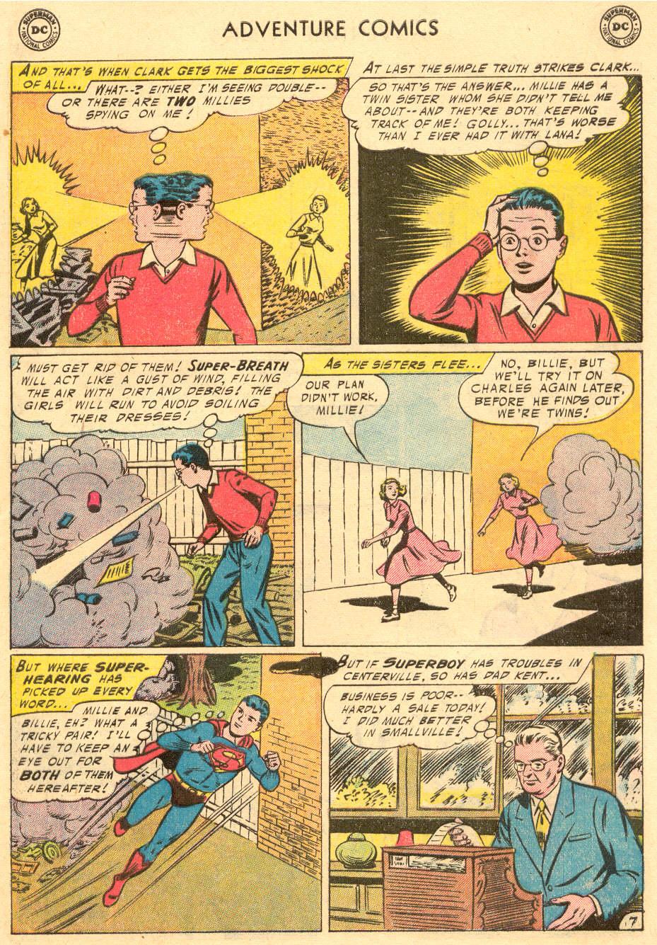 Read online Adventure Comics (1938) comic -  Issue #229 - 9