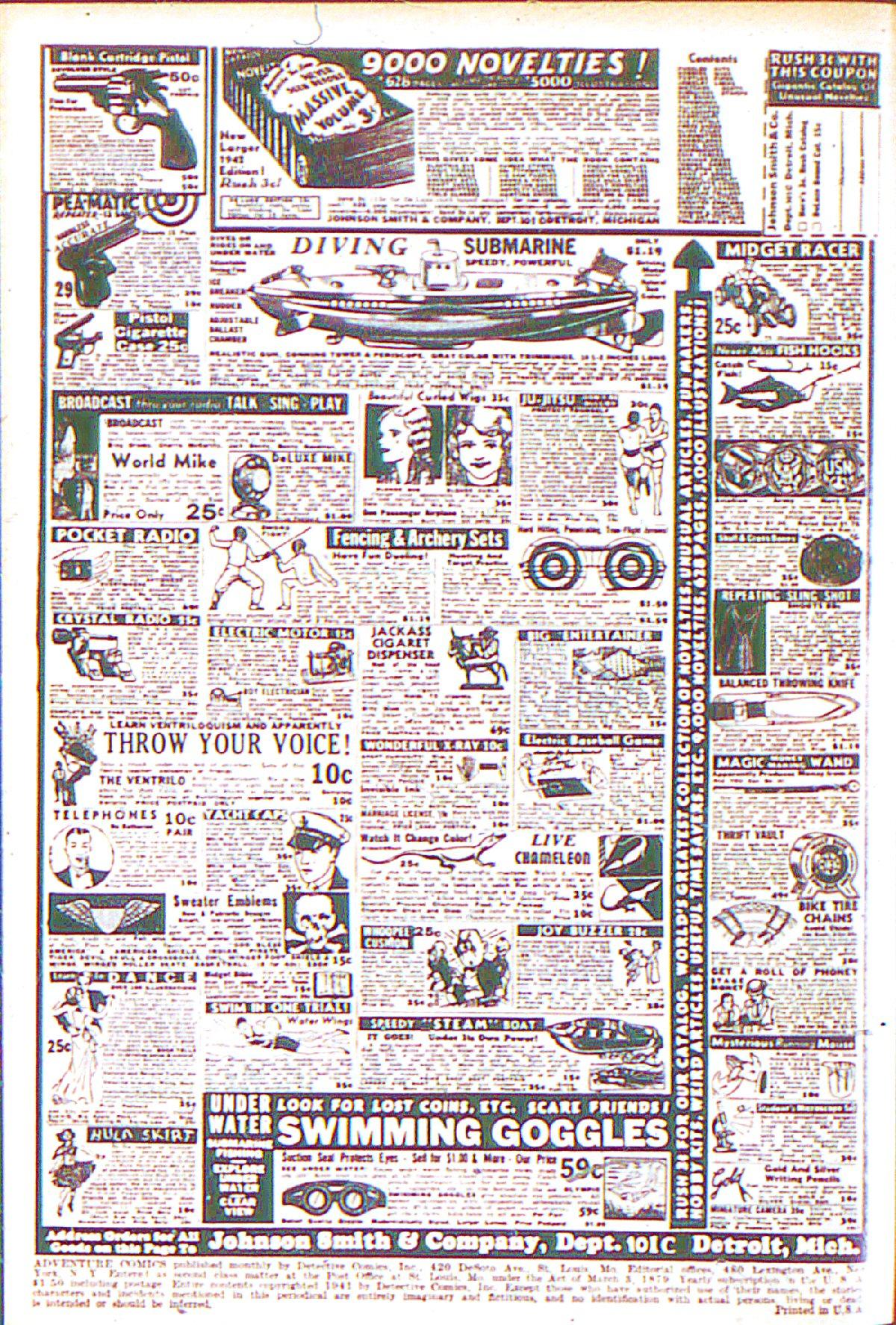 Read online Adventure Comics (1938) comic -  Issue #66 - 3