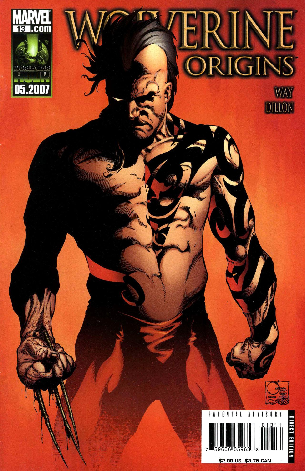 Read online Wolverine: Origins comic -  Issue #13 - 1