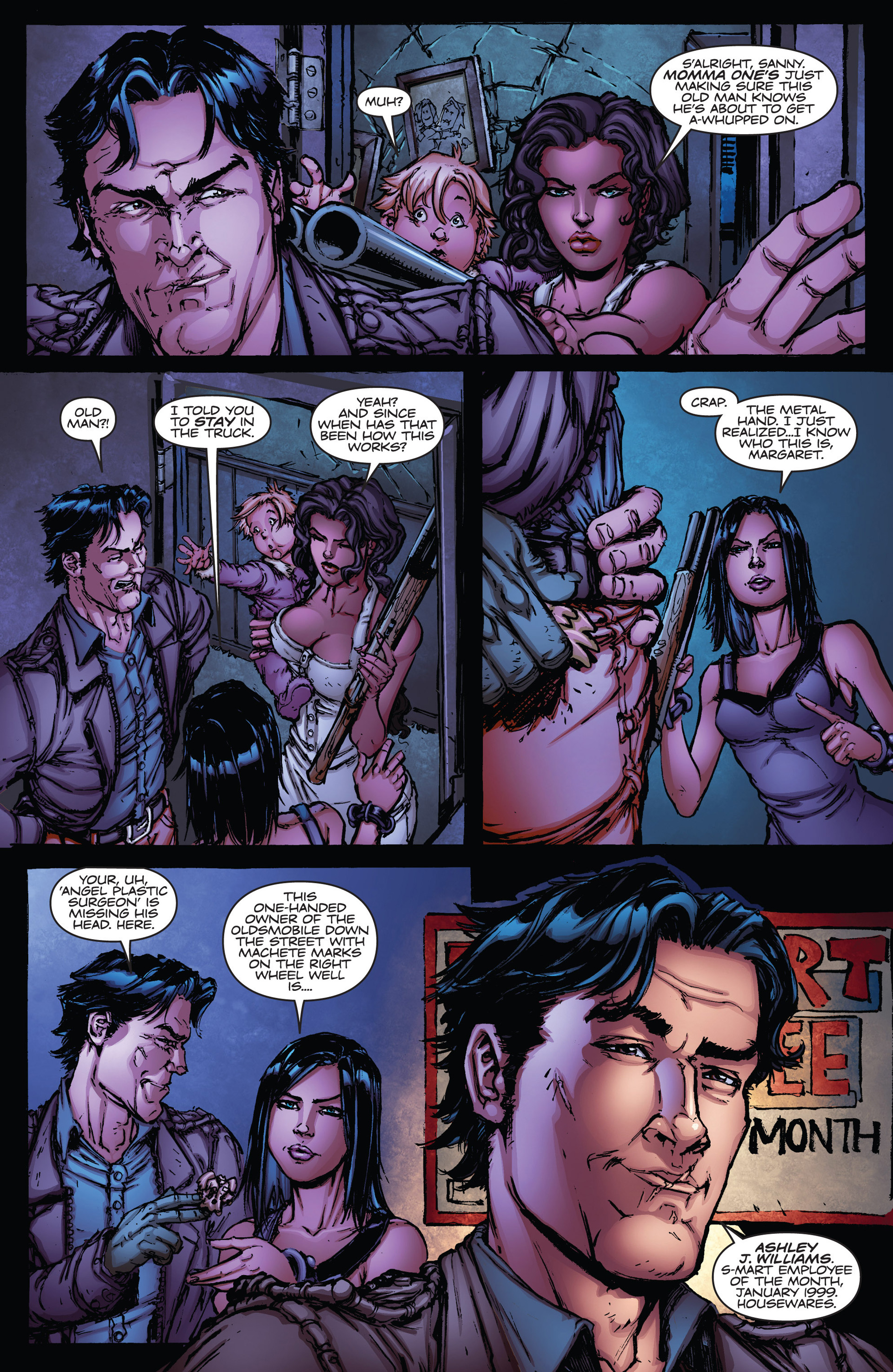 Read online Army of Darkness vs. Hack/Slash comic -  Issue #1 - 14