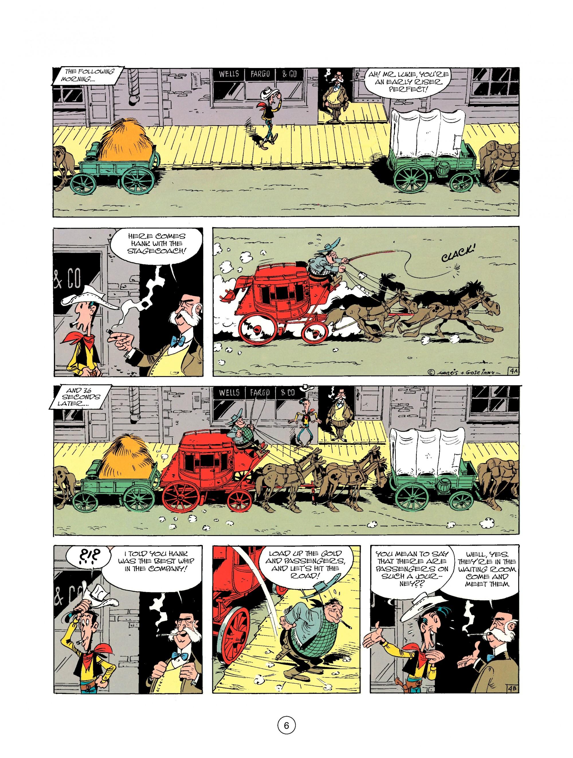 Read online A Lucky Luke Adventure comic -  Issue #25 - 6