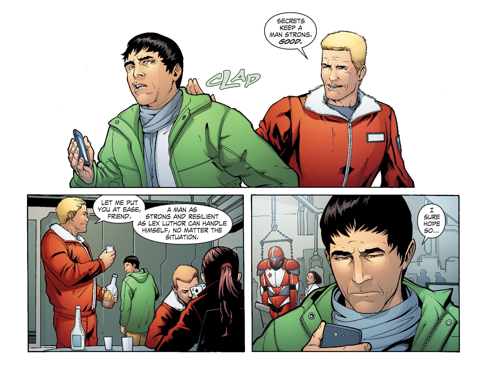 Read online Smallville: Alien comic -  Issue #8 - 16