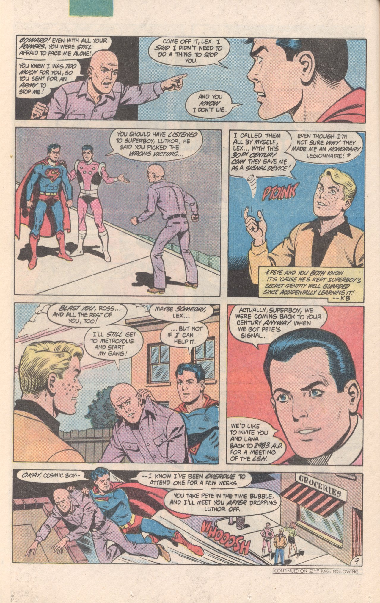 Legion of Super-Heroes (1980) 300 Page 9