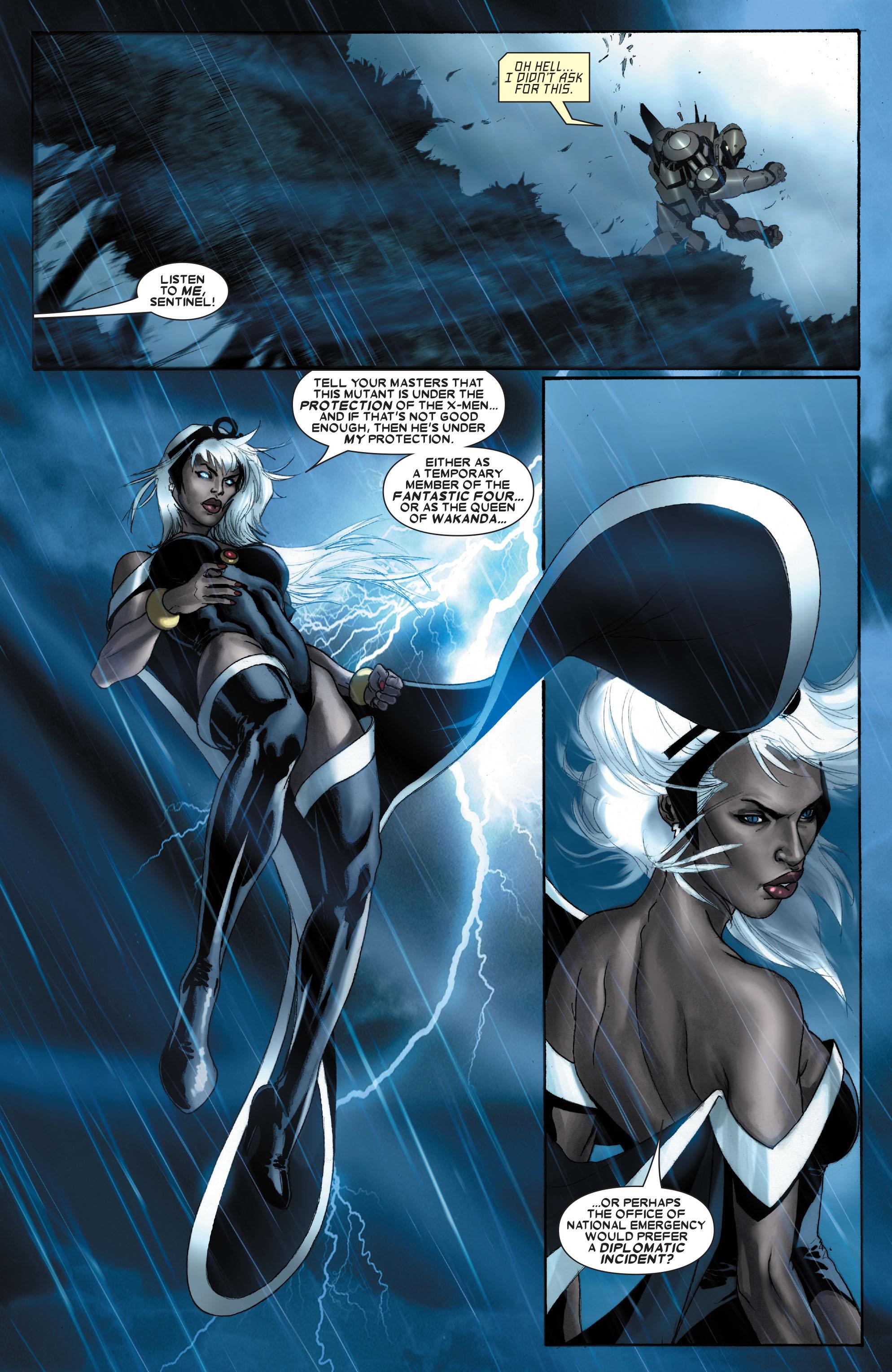 Read online Uncanny X-Men (1963) comic -  Issue #487 - 18